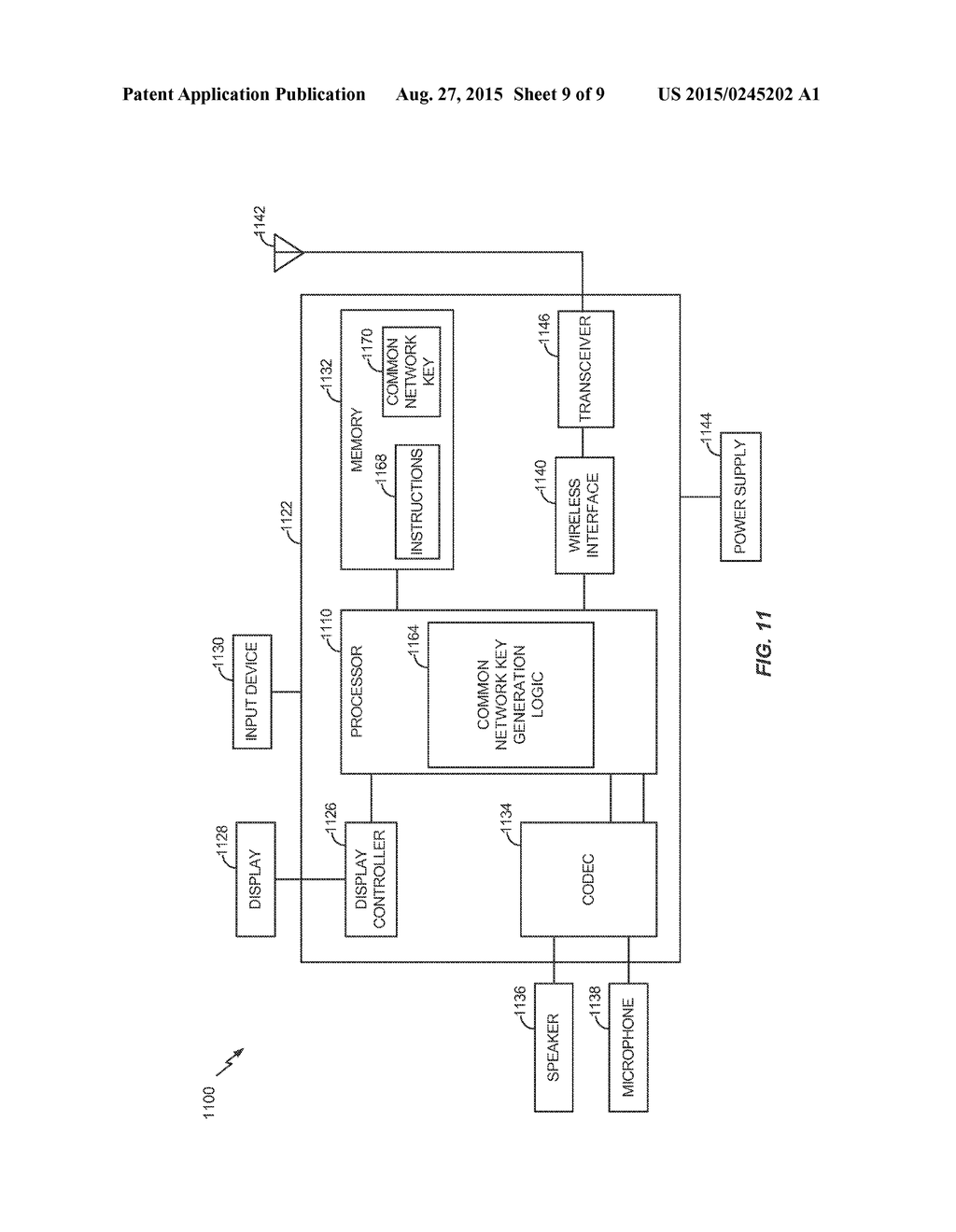 Secure Distribution Of A Common Network Key In Wireless Netowrk Diagram Schematic And Image 10