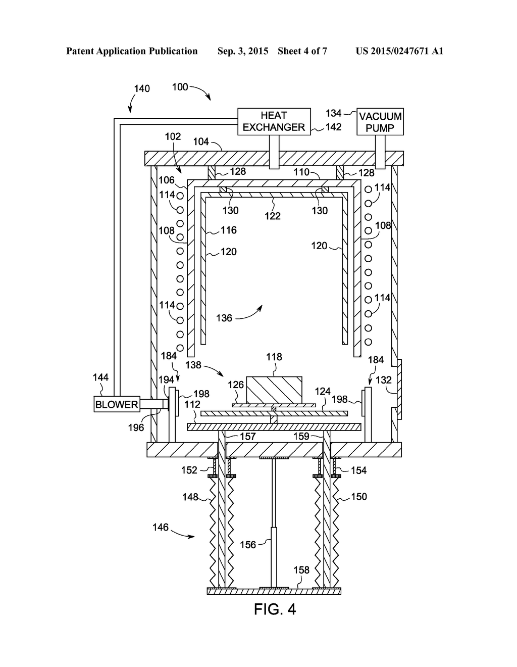 system for maintaining interior volume integrity in an induction furnace venting diagram system for maintaining interior volume integrity in an induction vacuum furnace and method of making same diagram, schematic, and image 05
