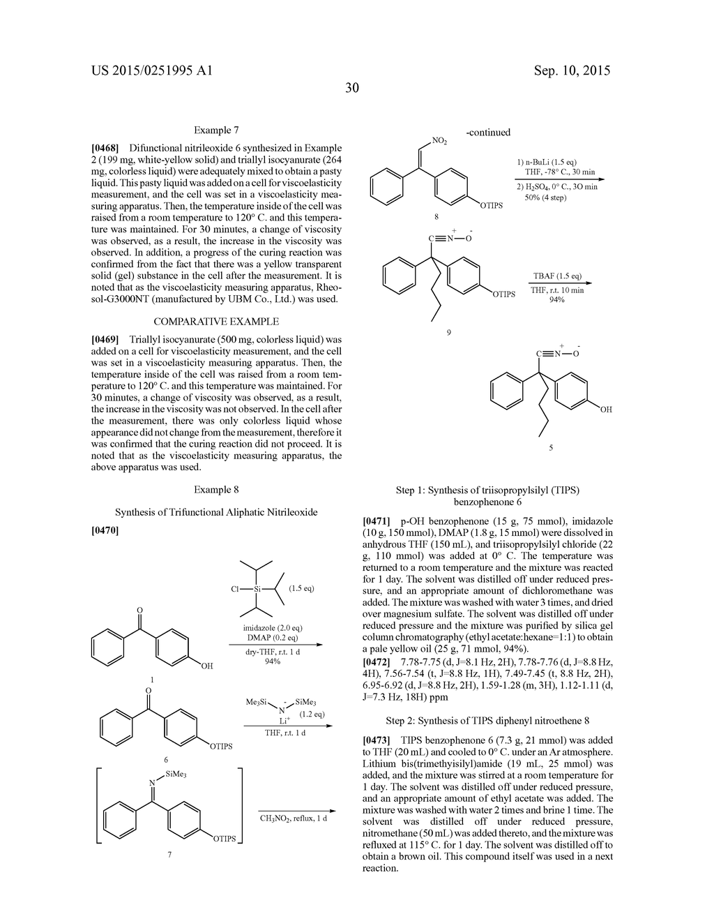 MULTIFUNCTIONAL NITRILEOXIDE COMPOUND - diagram, schematic, and image 35