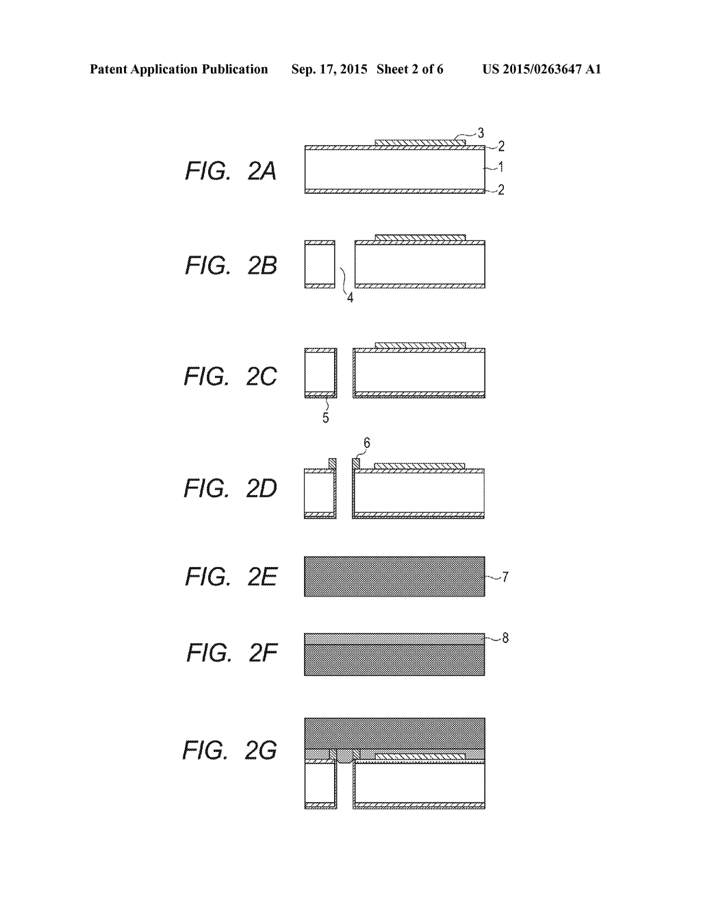 DEVICE HAVING ELEMENT ELECTRODE CONNECTED TO PENETRATING WIRE, AND METHOD     FOR MANUFACTURING THE SAME - diagram, schematic, and image 03