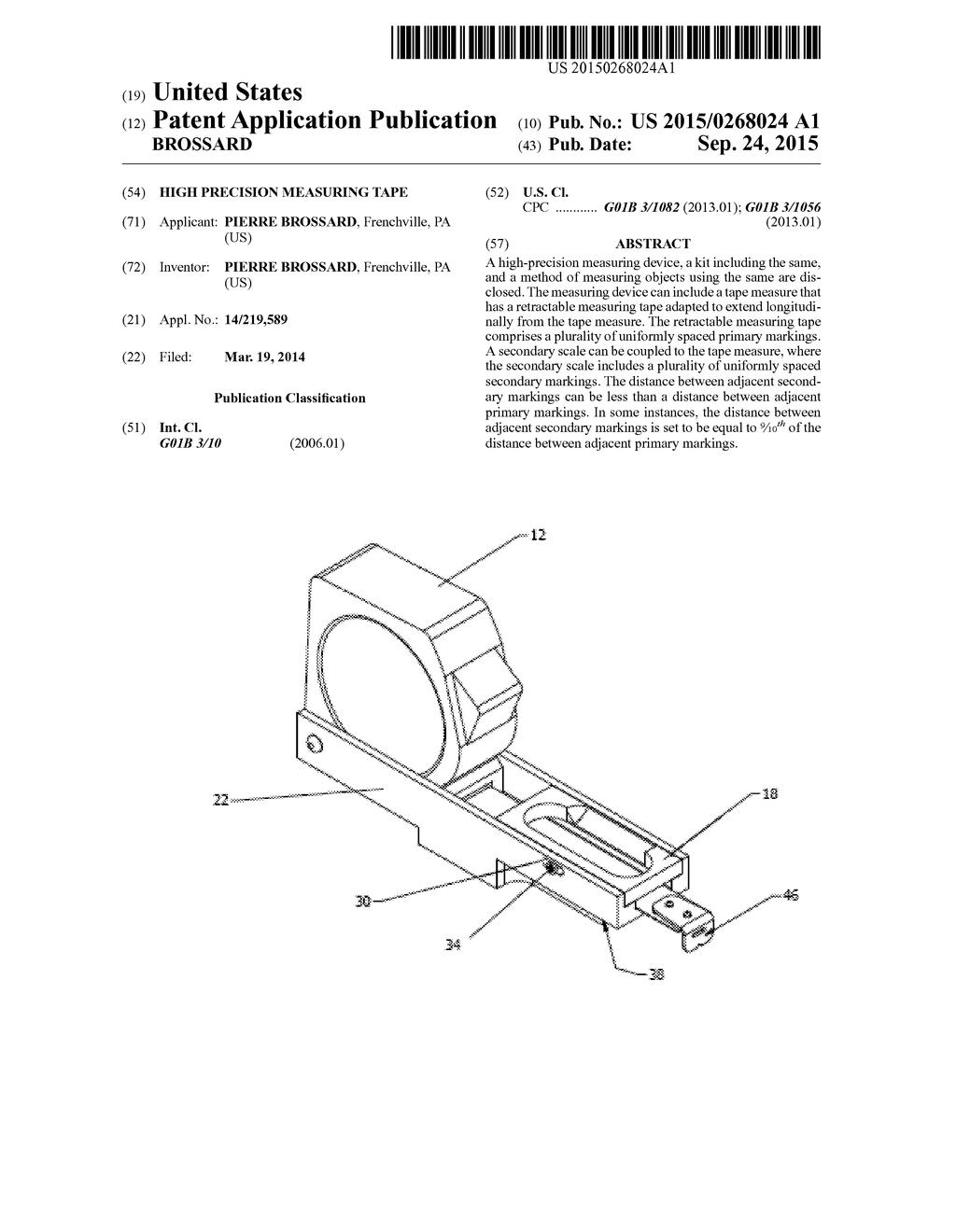 high precision measuring tape diagram schematic and image 01 rh patentsencyclopedia com Printable Measuring Tape Inches Parts of a Tape Measure
