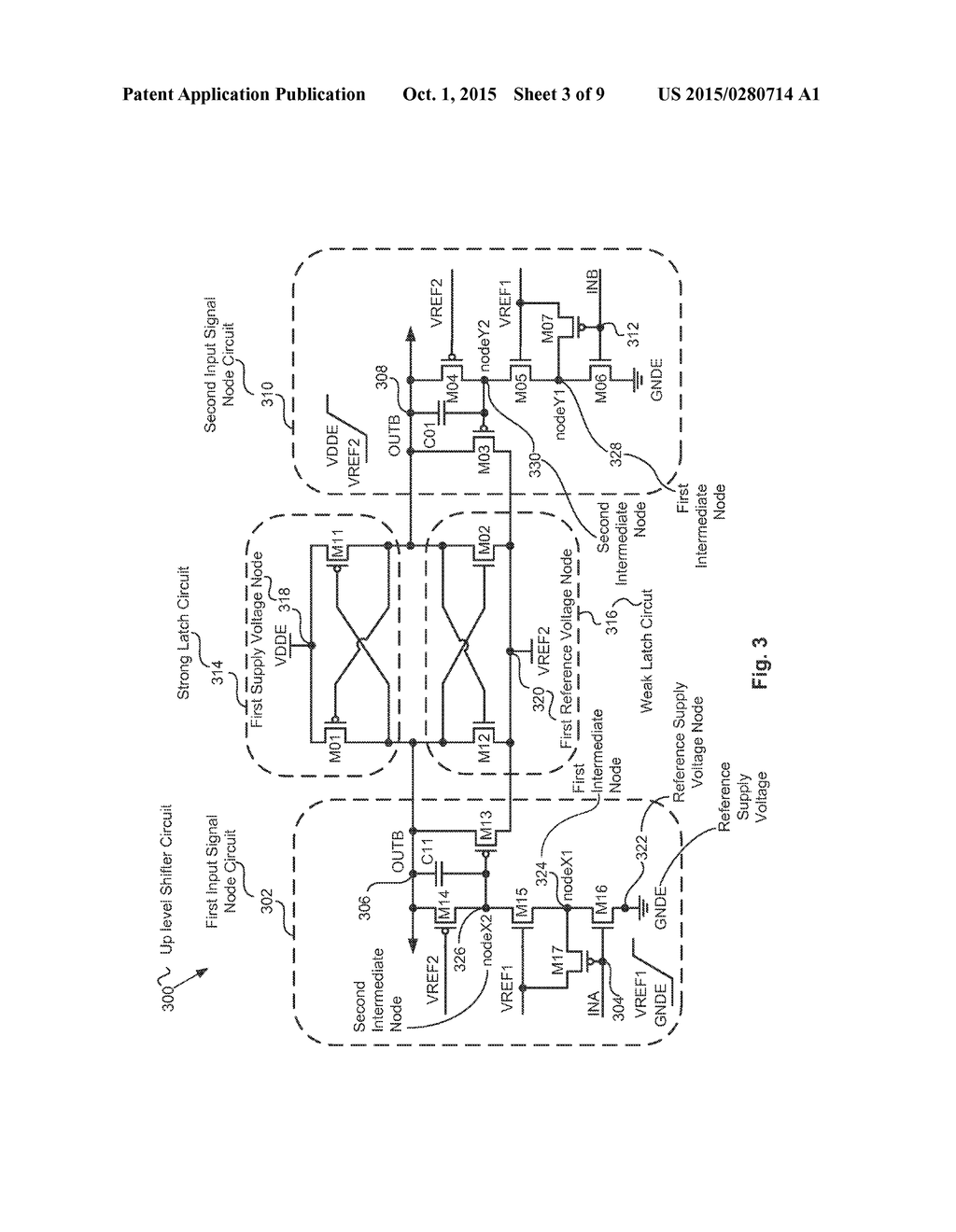 Voltage Level Shifter Circuit System And Method For Wide Supply Applications Diagram Schematic Image 04