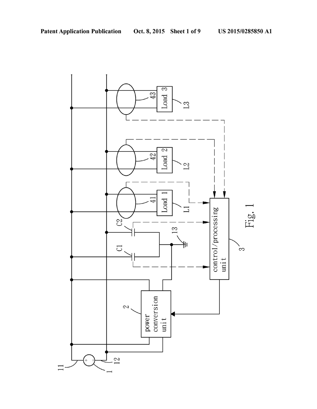 HIGH-SENSITIVITY INSULATION RESISTANCE DETECTION METHOD AND CIRCUIT FOR  UNGROUNDED DC POWER SUPPLY SYSTEM - diagram, schematic, and image 02