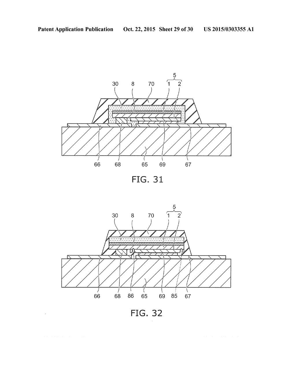 SEMICONDUCTOR LIGHT EMITTING DEVICE AND METHOD FOR MANUFACTURING SAME - diagram, schematic, and image 30