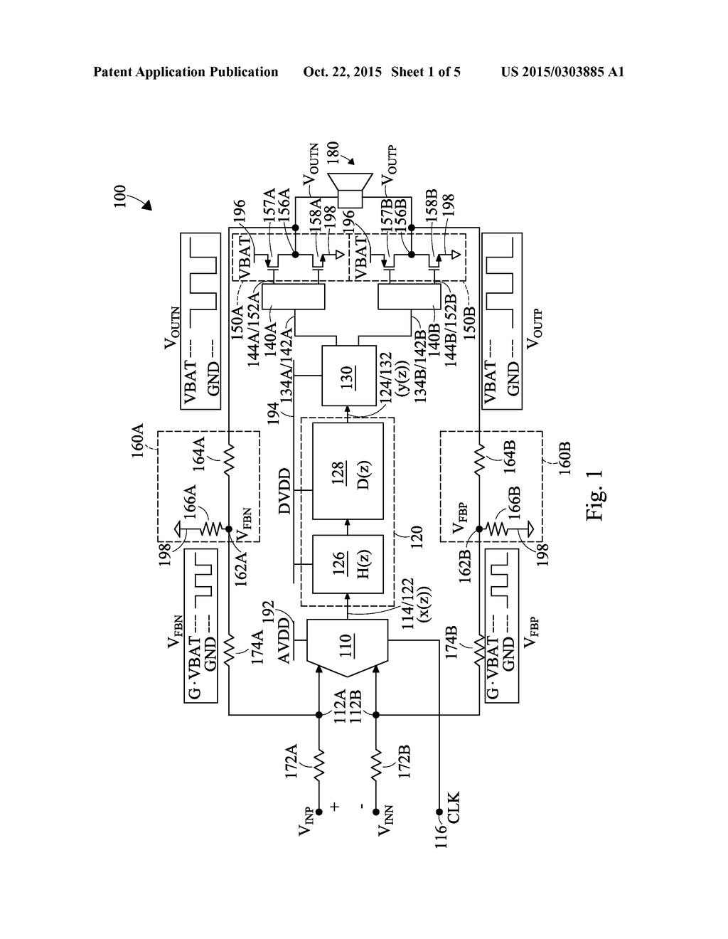 Class D Amplifier Having Mixed Signal Feedback Control Diagram G Circuit Schematic And Image 02