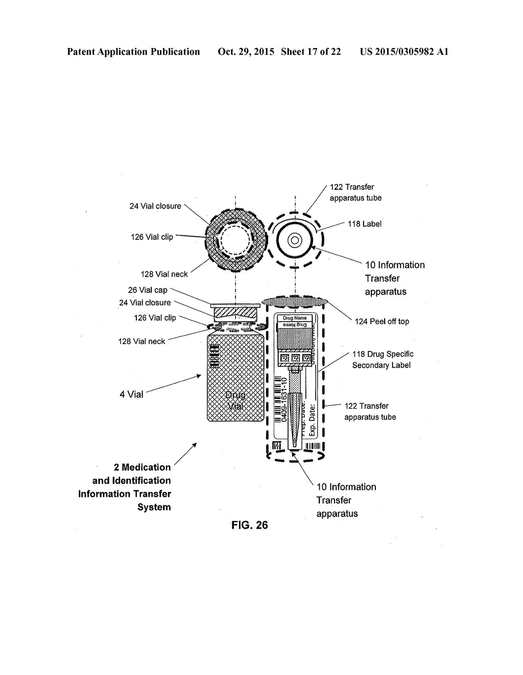 Medication and Identification Information Transfer Apparatus - diagram, schematic, and image 18
