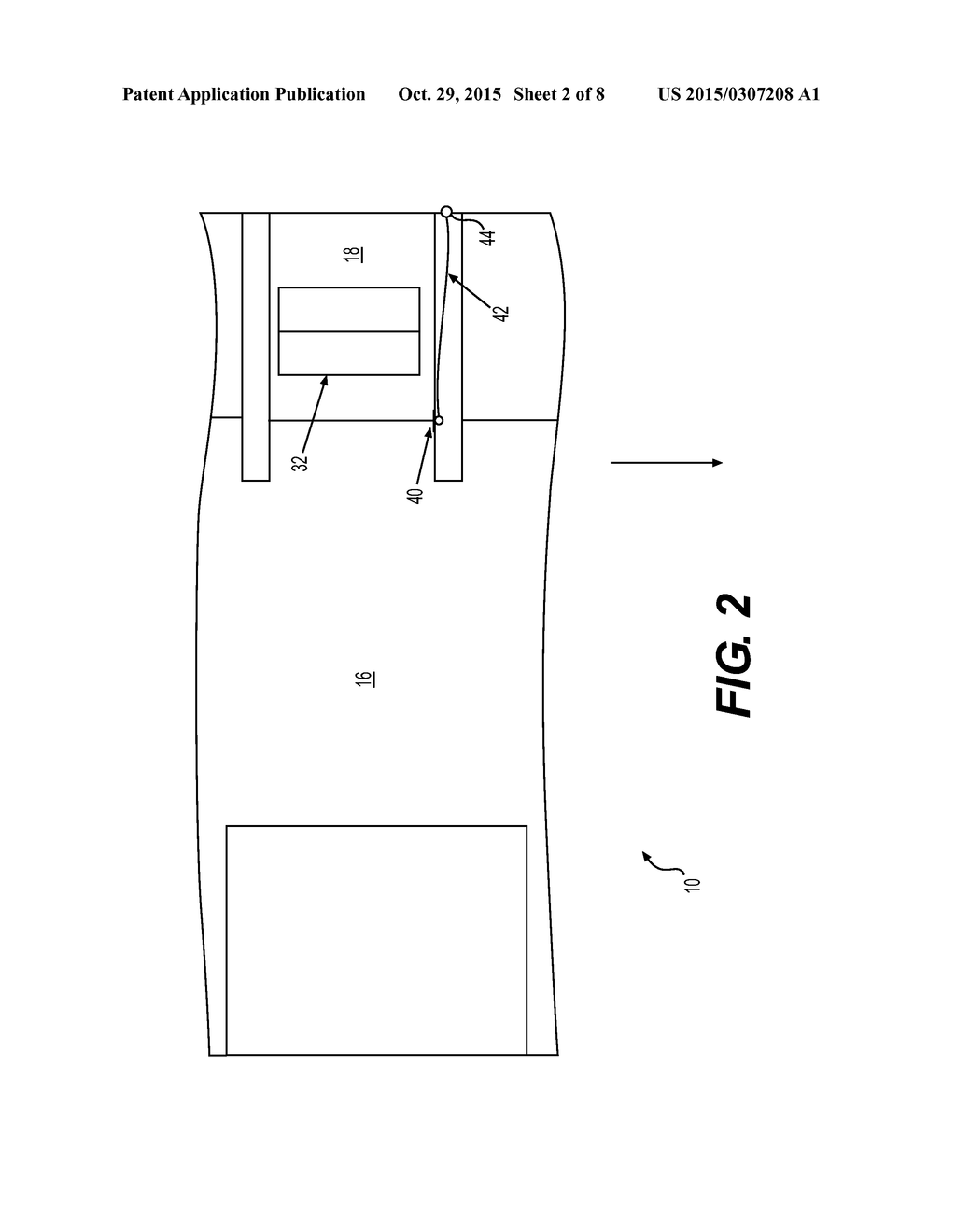 OPTICAL VIEWING APPARATUS FOR AIRCRAFT DOORWAY - diagram, schematic, and  image 03