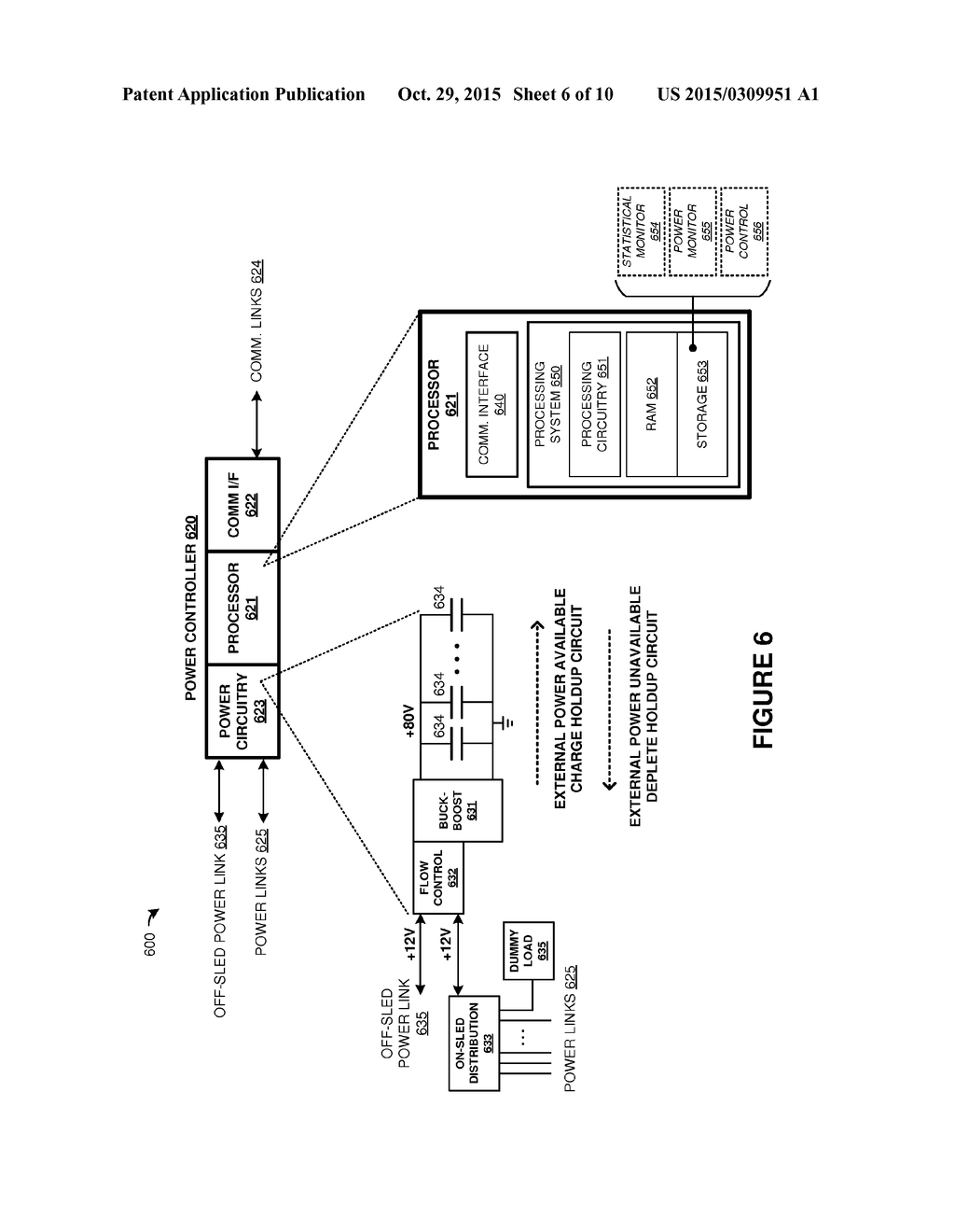Power Handling In A Scalable Storage System Diagram Schematic Circuit Of The Dummy Load And Image 07