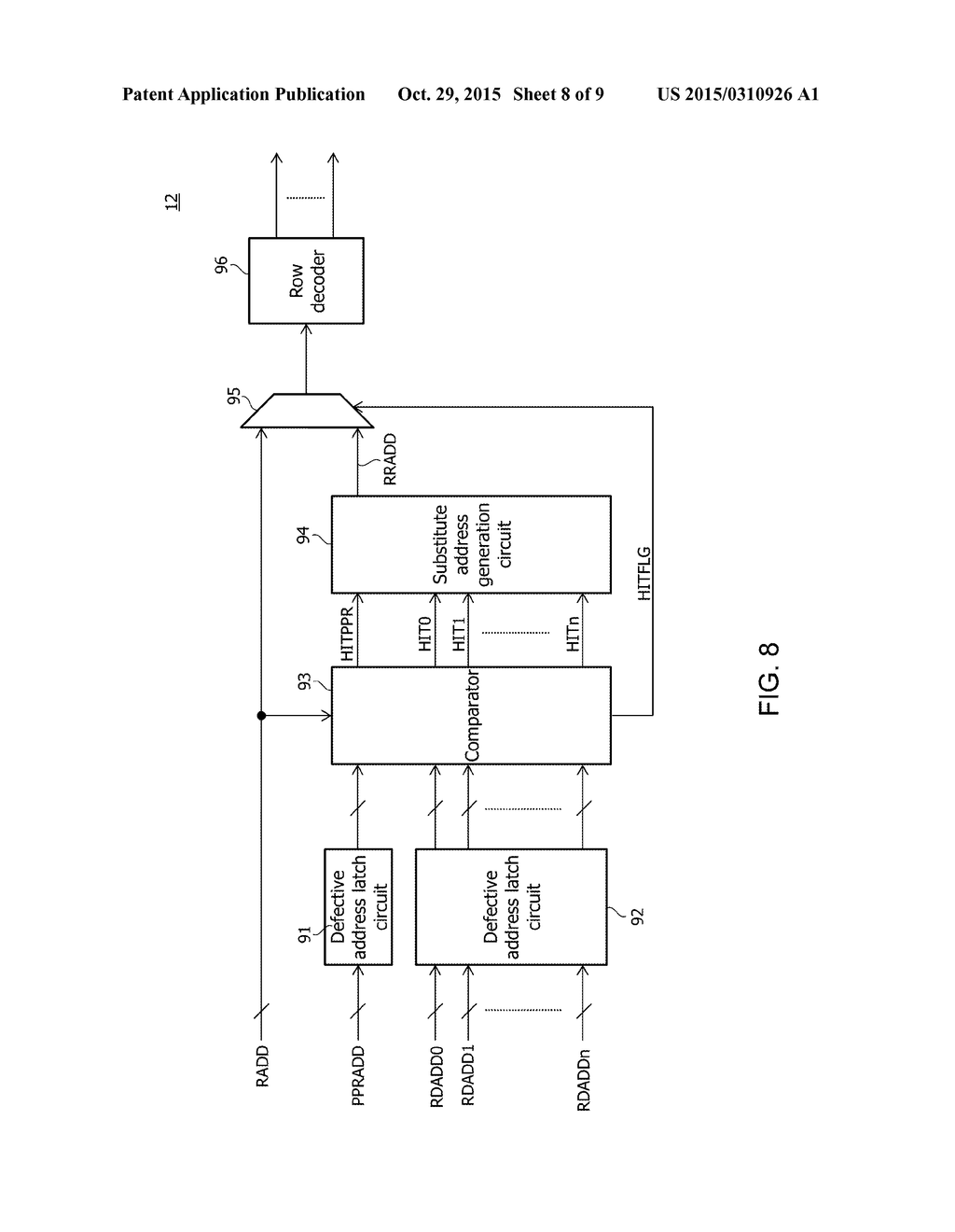 SEMICONDUCTOR DEVICE INCLUDING FUSE CIRCUIT - diagram, schematic, and image  09