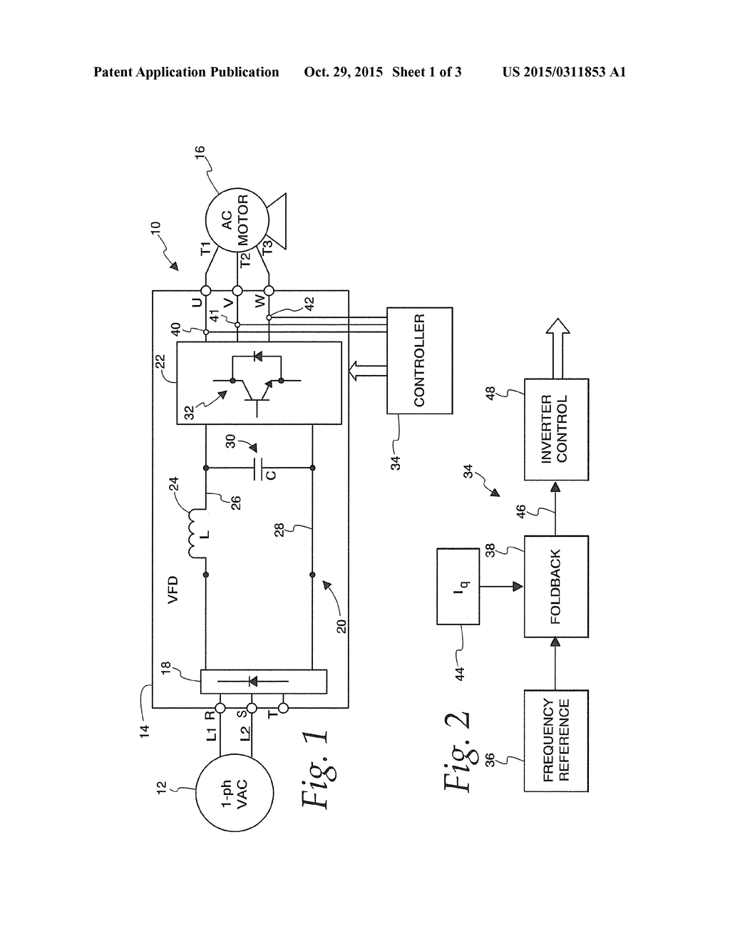 System For Operating A Three Phase Variable Frequency Drive From An Circuit Unbalanced Or Single Ac Source Diagram Schematic And Image 02