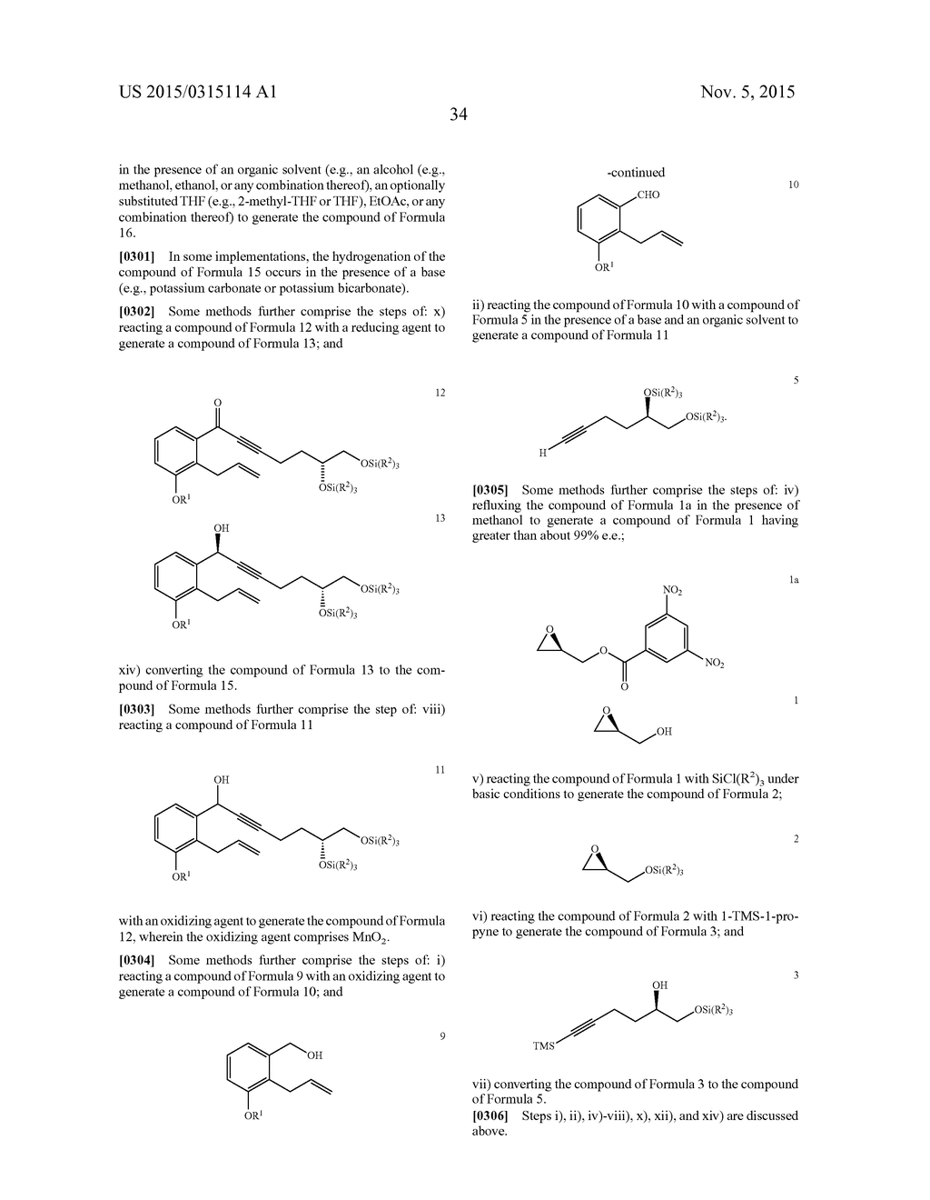 Methods of Synthesizing a Prostacyclin Analog - diagram, schematic, and image 35