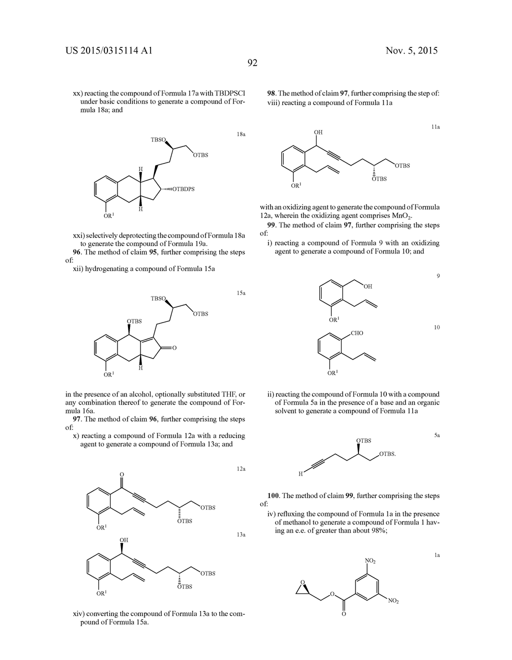 Methods of Synthesizing a Prostacyclin Analog - diagram, schematic, and image 93