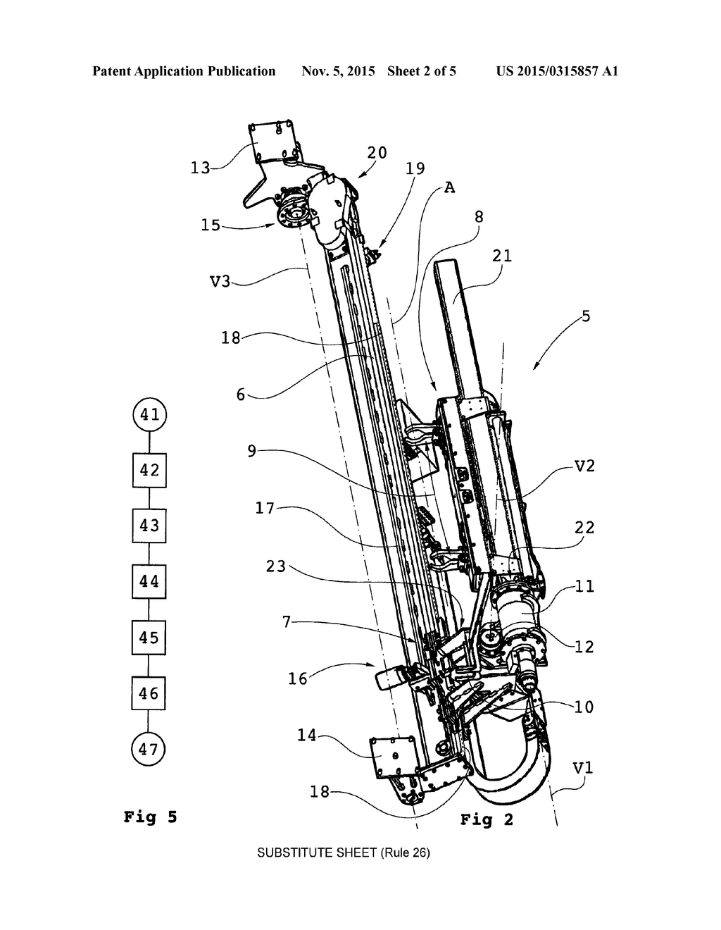 Device For Handling Drill String Components Of A Drill String