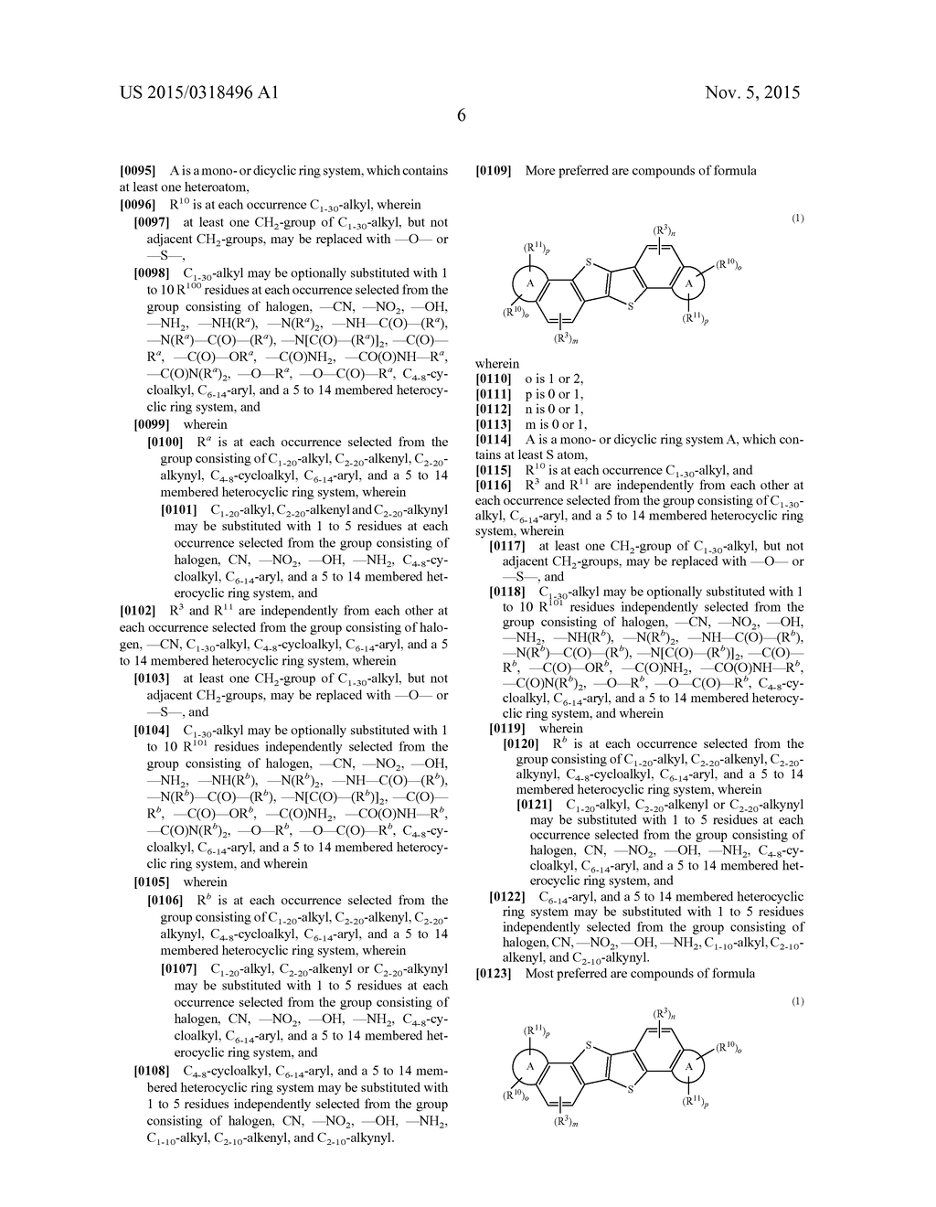 HETEROACENE COMPOUNDS FOR ORGANIC ELECTRONICS - diagram, schematic, and image 10