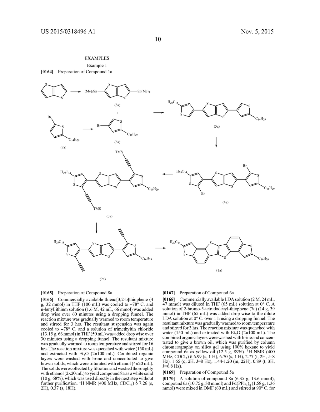 HETEROACENE COMPOUNDS FOR ORGANIC ELECTRONICS - diagram, schematic, and image 14