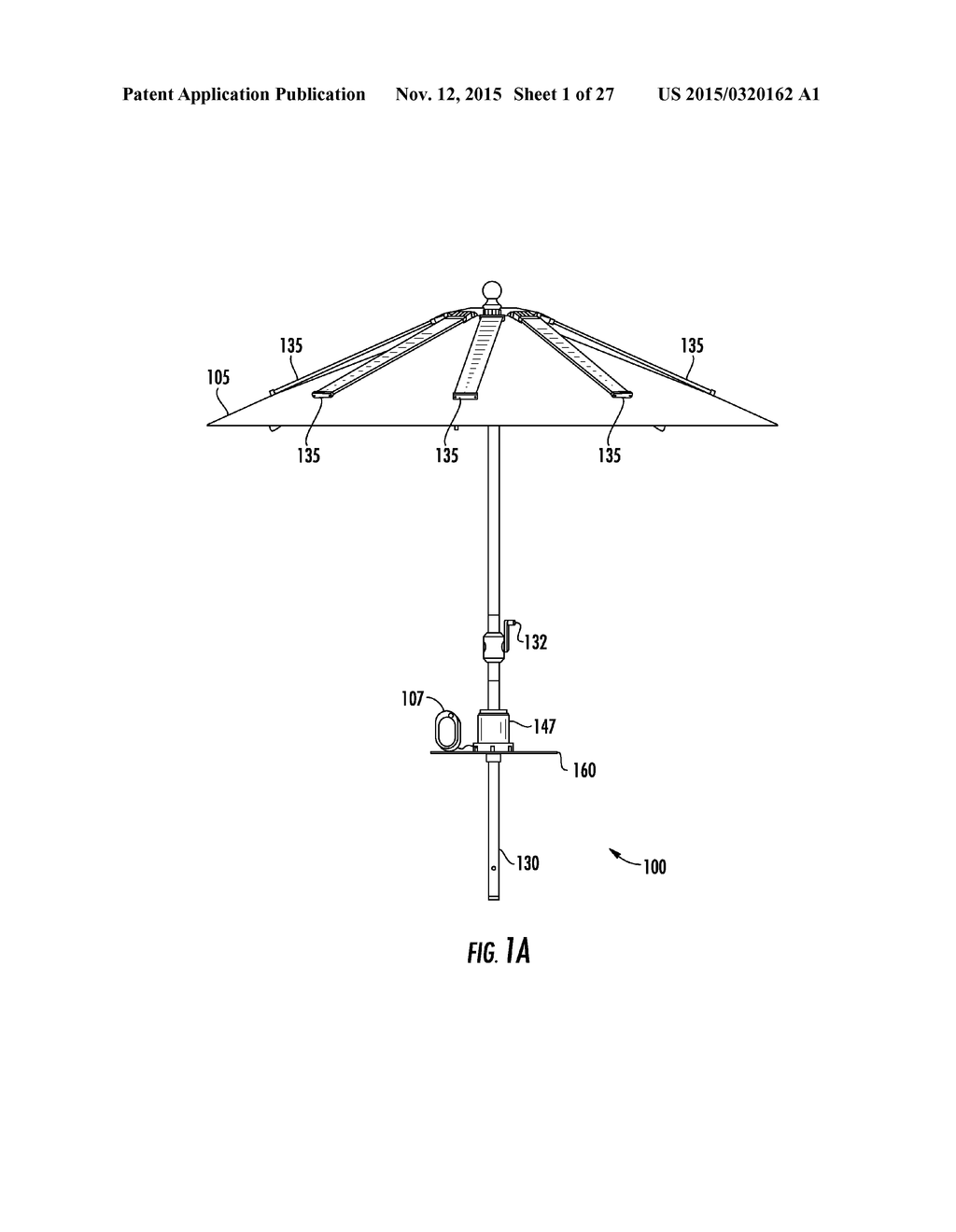 Solar Powered Charging Umbrella With Usb Ports Diagram Schematic Charger And Image 02