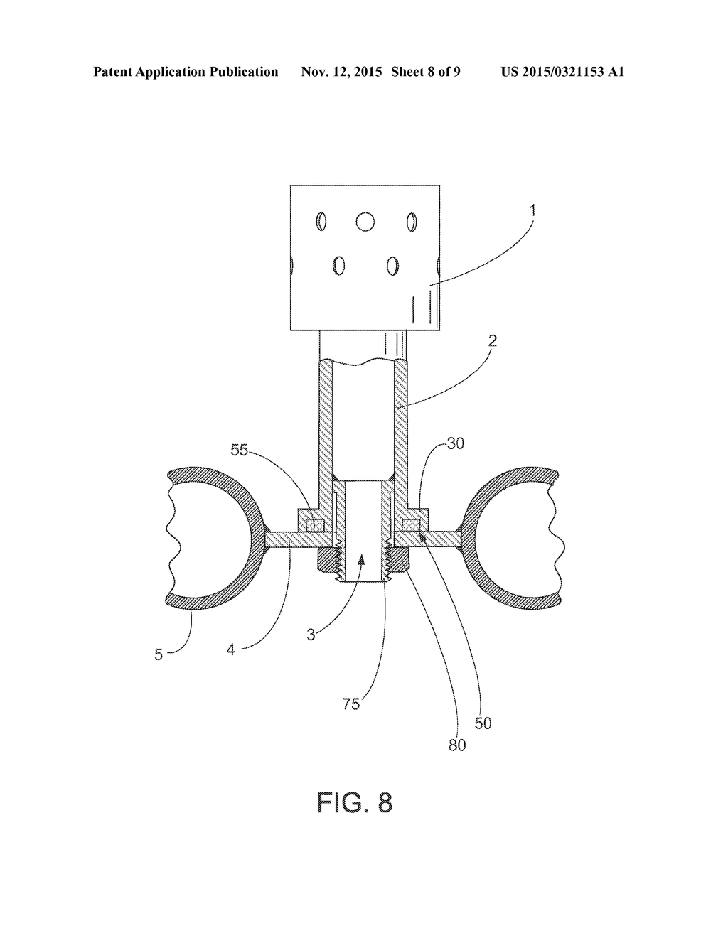20150321153_09 fluidizing nozzle or bubble cap assembly for air distribution grid