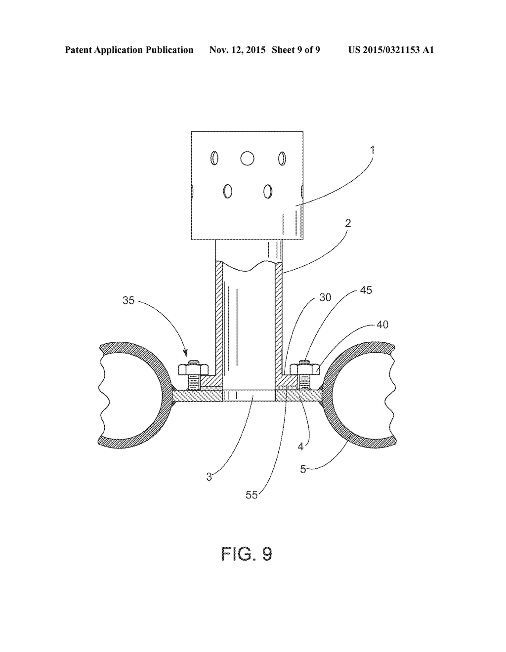 20150321153_10 fluidizing nozzle or bubble cap assembly for air distribution grid