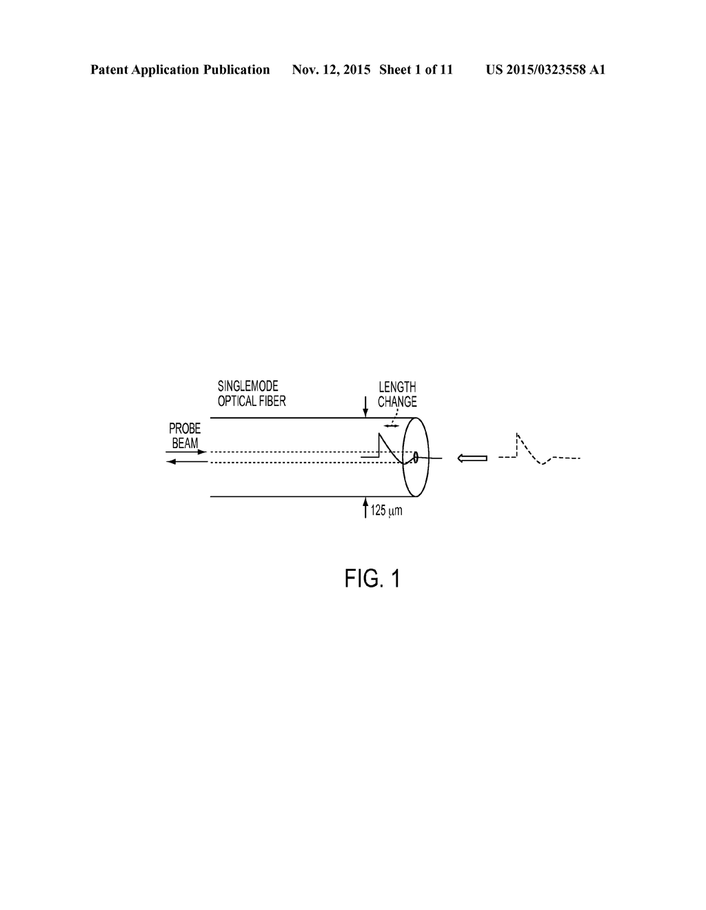 Fiber Optic Sensor And Method For Detecting Shock Wave Pressure Probe Diagram Mass Velocity In Solid Media Schematic Image 02