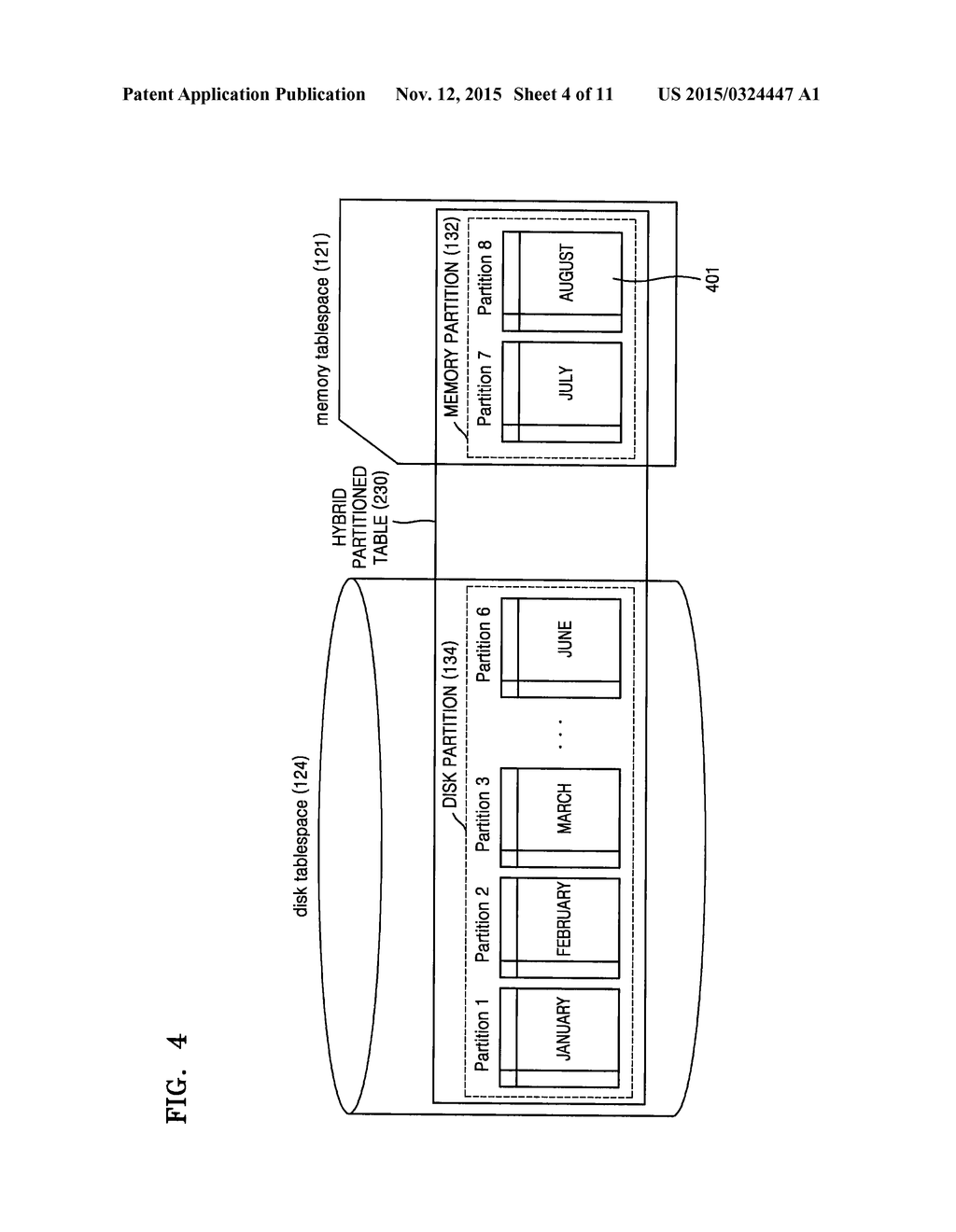 HYBRID DATABASE MANAGEMENT SYSTEM AND METHOD OF MANAGING TABLES THEREIN - diagram, schematic, and image 05