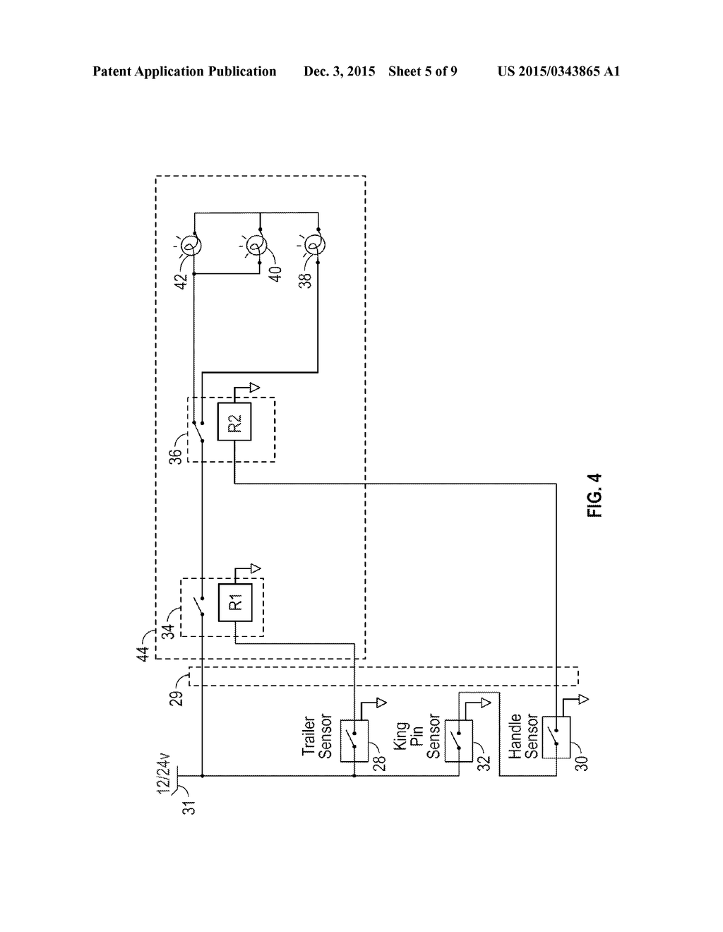 Safety Enhanced Turntable Or Fifth Wheel For Coupling A Semi Trailer Schematics To Prime Mover Diagram Schematic And Image 06