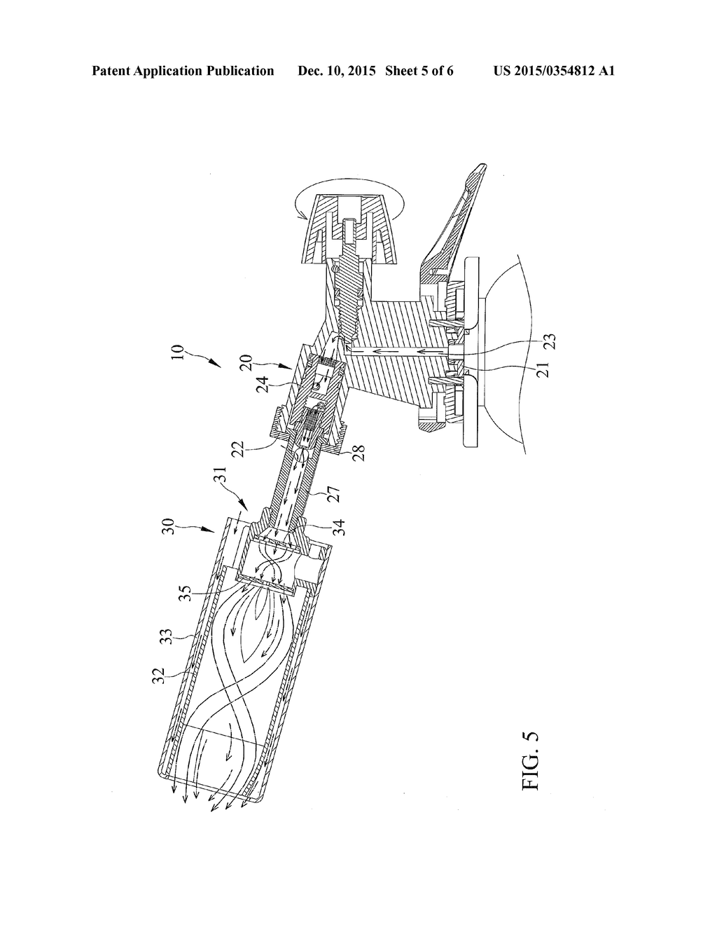 gas hot air gun head diagram schematic and image 06 rh patentsencyclopedia com