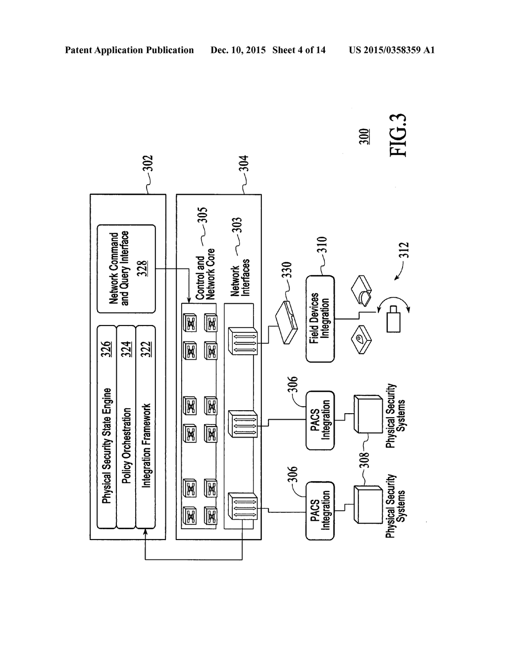 Policy Based Physical Security System For Restricting Access To Diagram Computer Resources And Data Flow Through Network Equipment Schematic Image