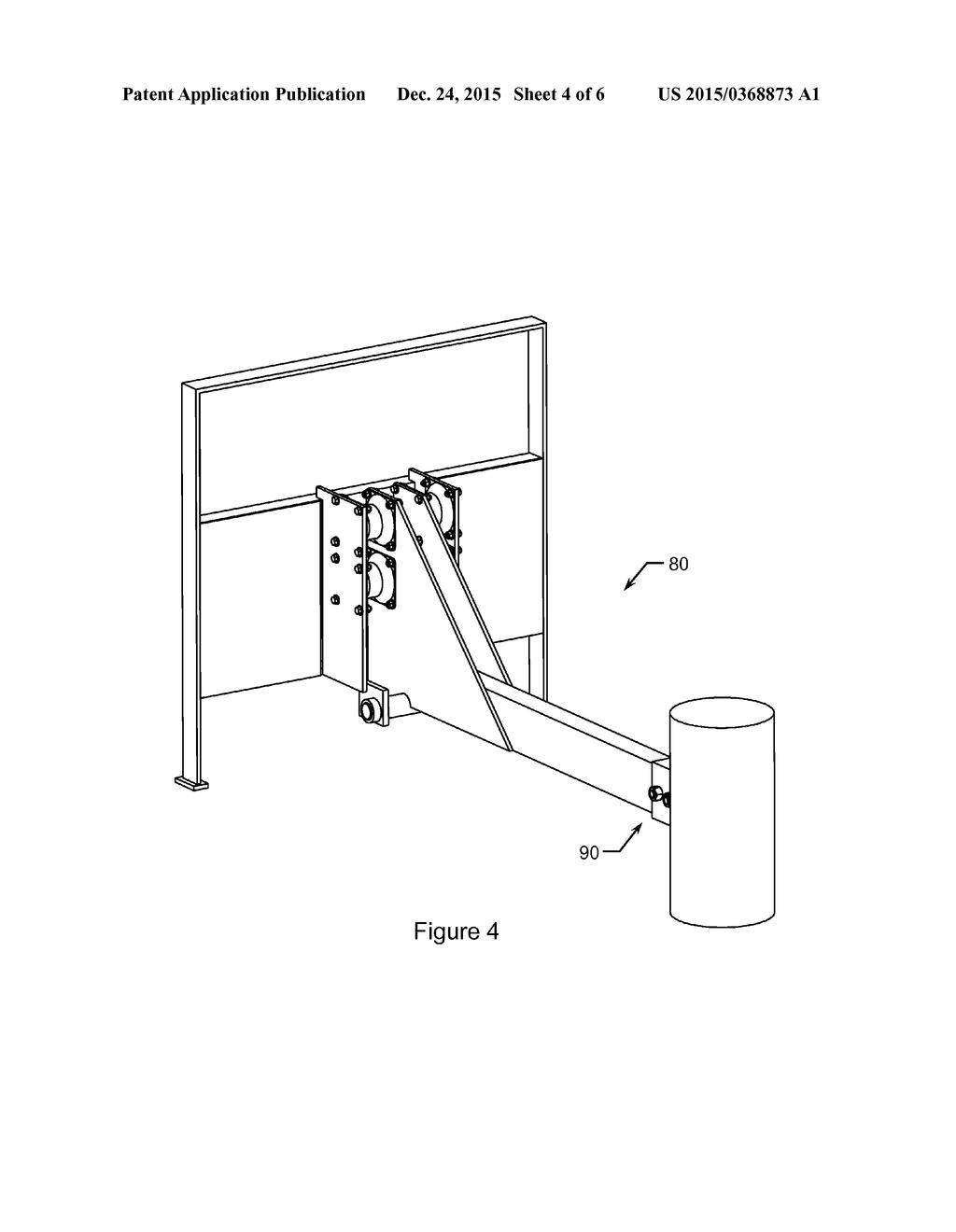Excavator Hammer Attachment Apparatus Diagram Schematic And Image 05