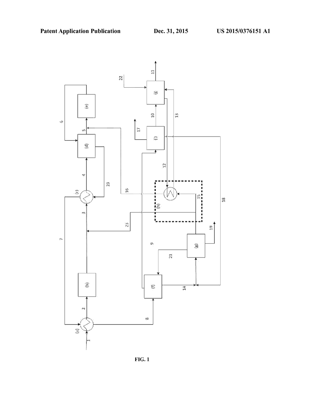thermally integrated process for the production of ethylene oxide from a flow of ethanol diagram schematic and image 02 - Ethylene Oxide Process Flow Diagram