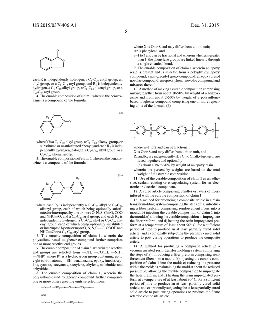 Benzoxazine Curable Composition Containing Polysulfone-Based Tougheners - diagram, schematic, and image 09