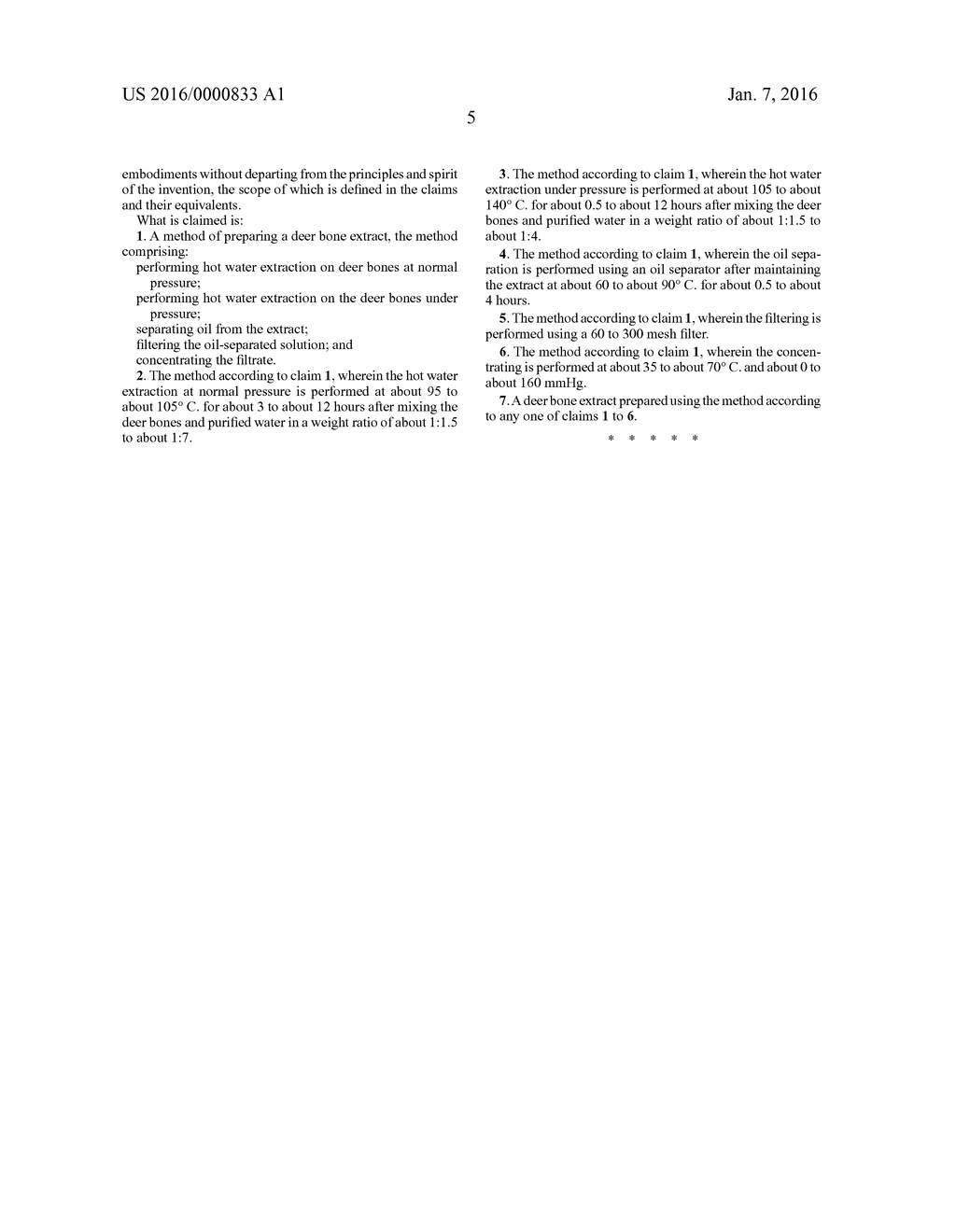 METHOD OF PREPARING DEER BONE EXTRACT HAVING INCREASED AMOUNT OF     GANGLIOSIDE - diagram, schematic, and image 14