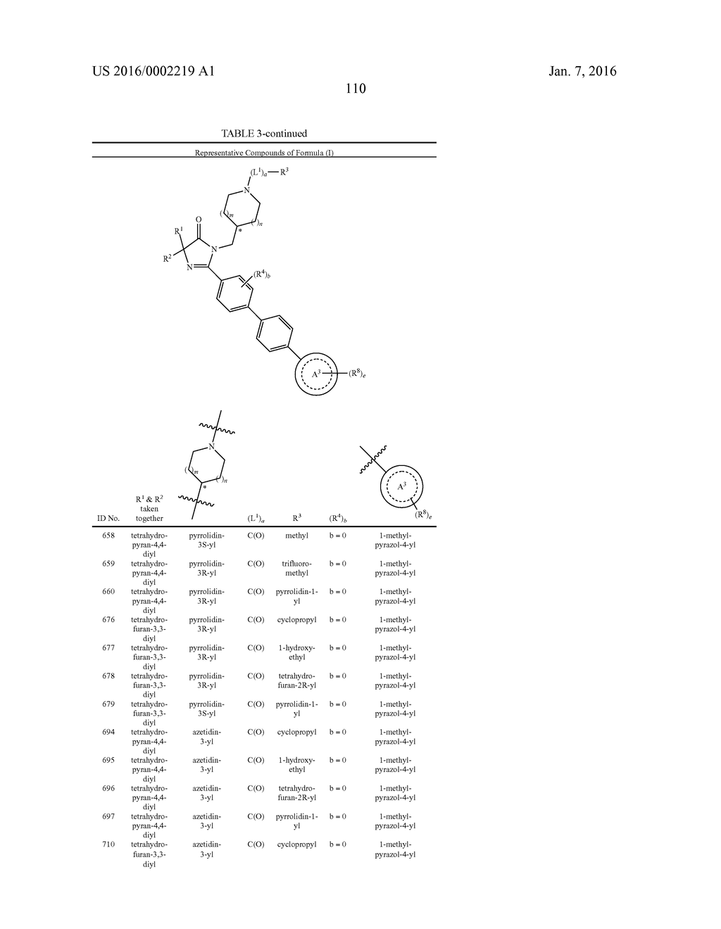 IMIDAZOLIN-5-ONE DERIVATIVE USEFUL AS FASN INHIBITORS FOR THE TREATMENT OF     CANCER - diagram, schematic, and image 111