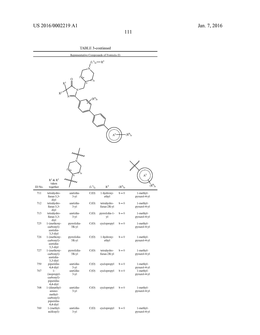 IMIDAZOLIN-5-ONE DERIVATIVE USEFUL AS FASN INHIBITORS FOR THE TREATMENT OF     CANCER - diagram, schematic, and image 112