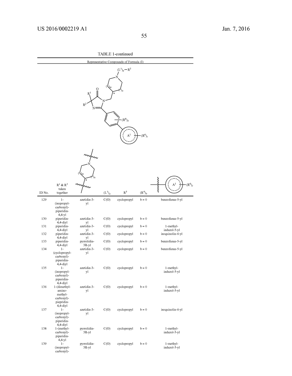 IMIDAZOLIN-5-ONE DERIVATIVE USEFUL AS FASN INHIBITORS FOR THE TREATMENT OF     CANCER - diagram, schematic, and image 56