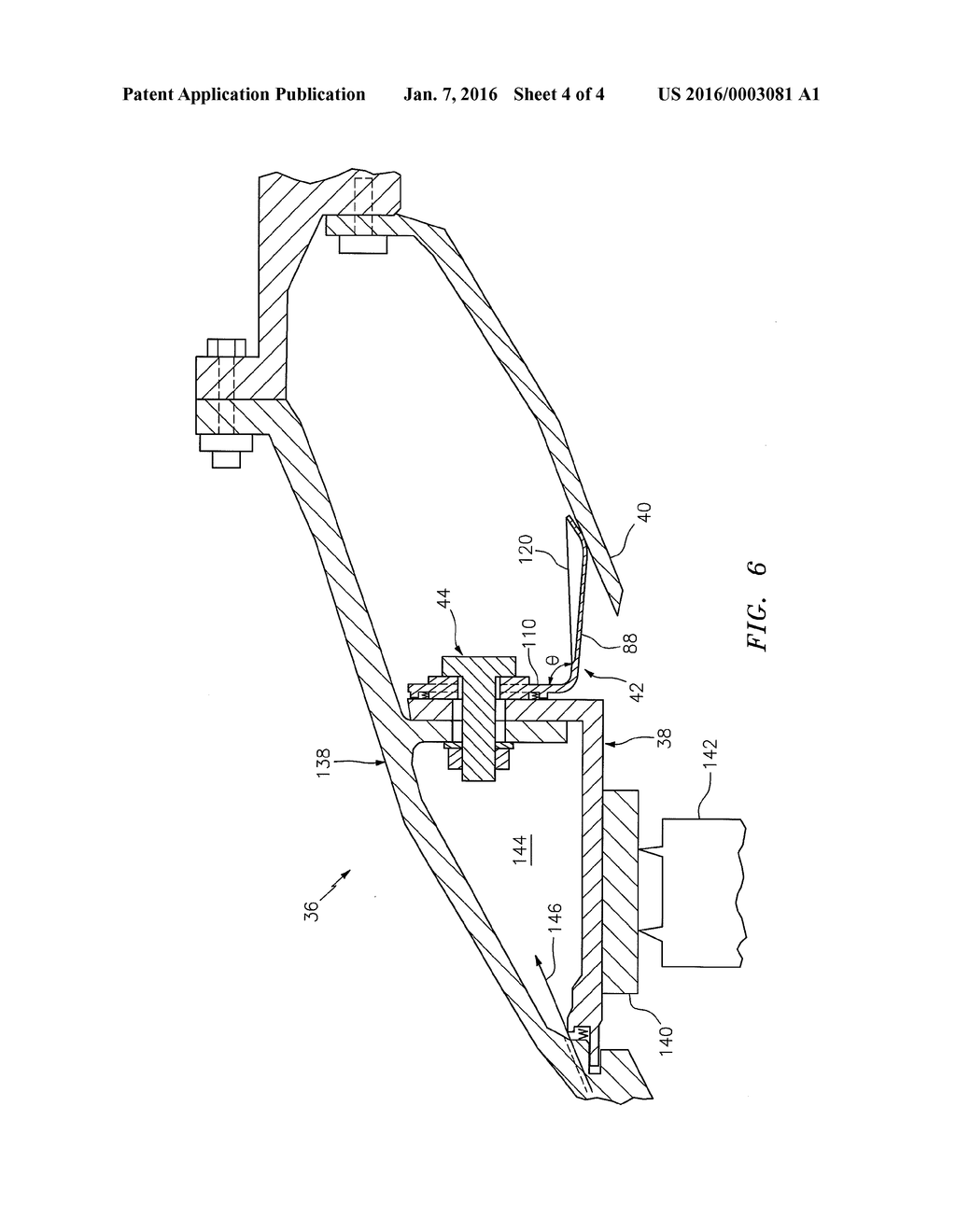 Flexible Finger Seal For Sealing A Gap Between Turbine Engine Basic Components Diagram Schematic And Image 05