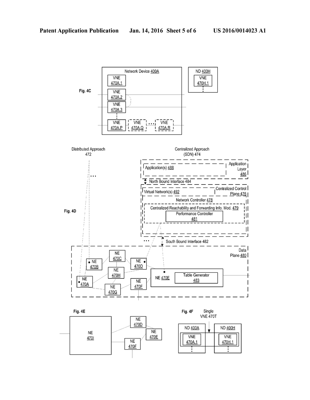 FORWARDING TABLE PERFORMANCE CONTROL IN SDN - diagram, schematic, and image 06
