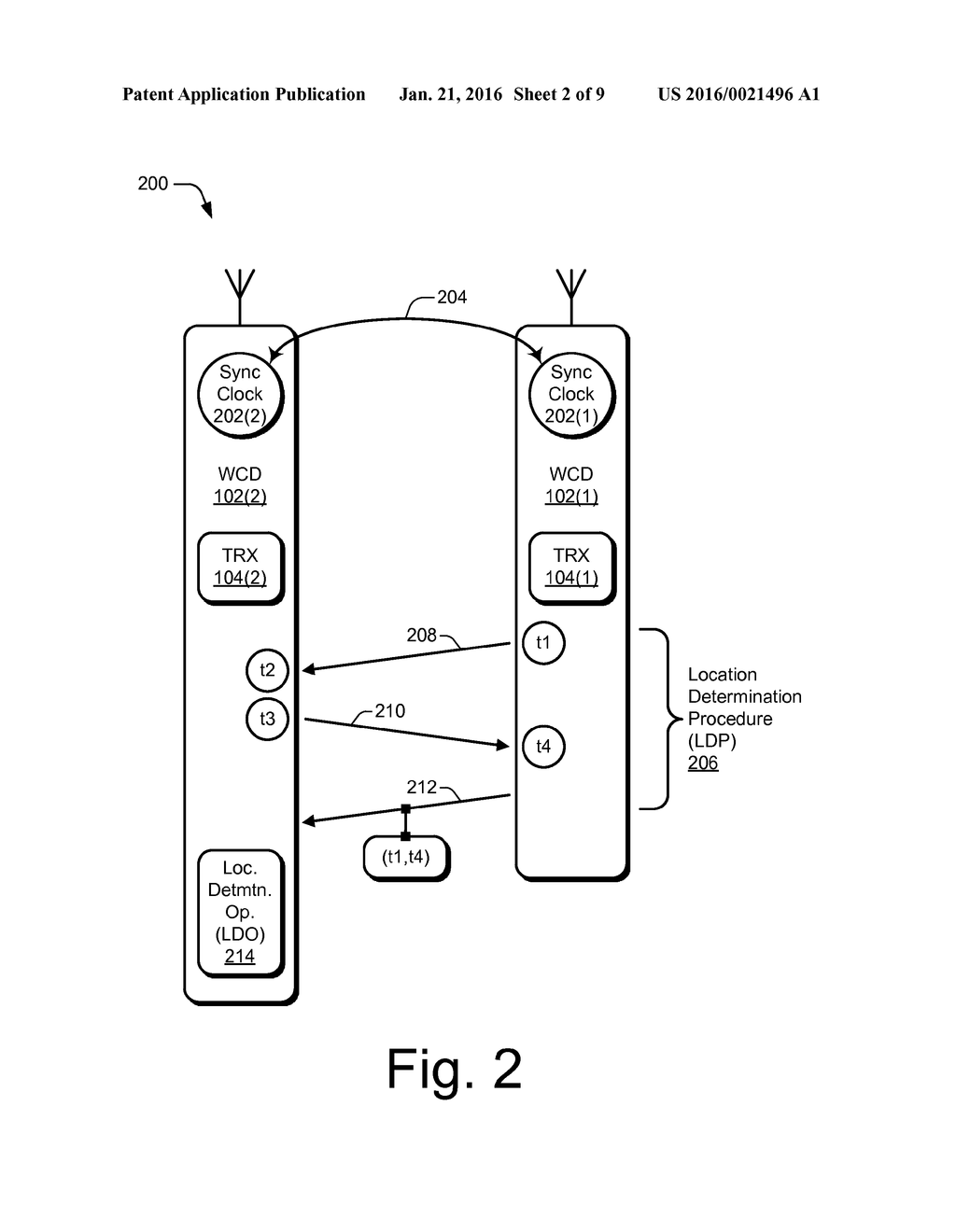 Methods and Apparatus for Enabling Spontaneous Location Determination in a  Scheduled Wireless Communication Environment - diagram, schematic, and  image 03