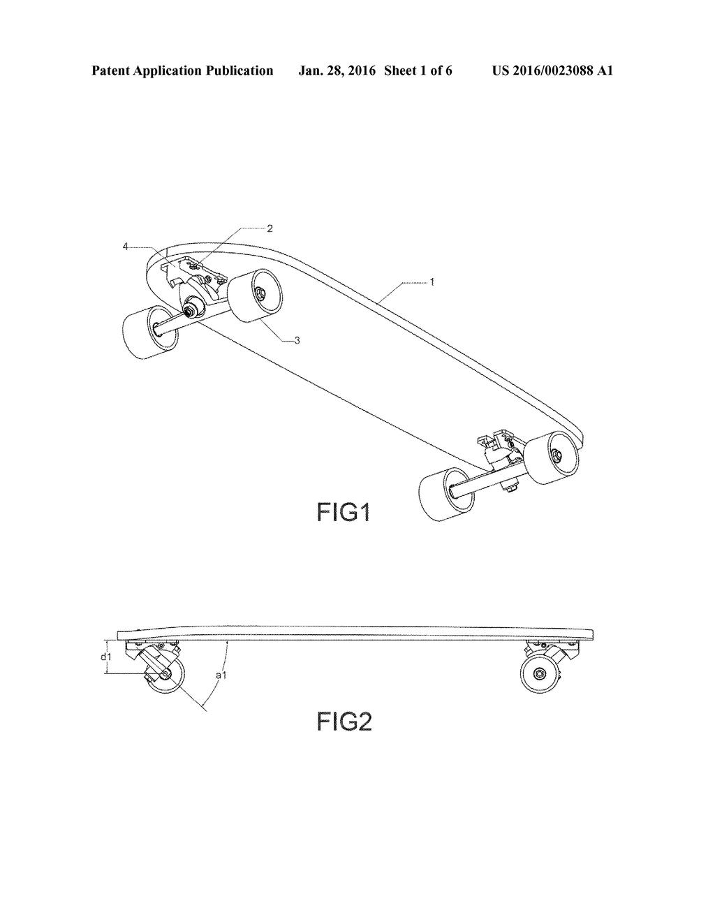 Longboards Kingpin Diagram Modern Design Of Wiring Skateboard Parts Adjustable Base For Longboard Reverse Trucks Rh Patentsencyclopedia Com Templates