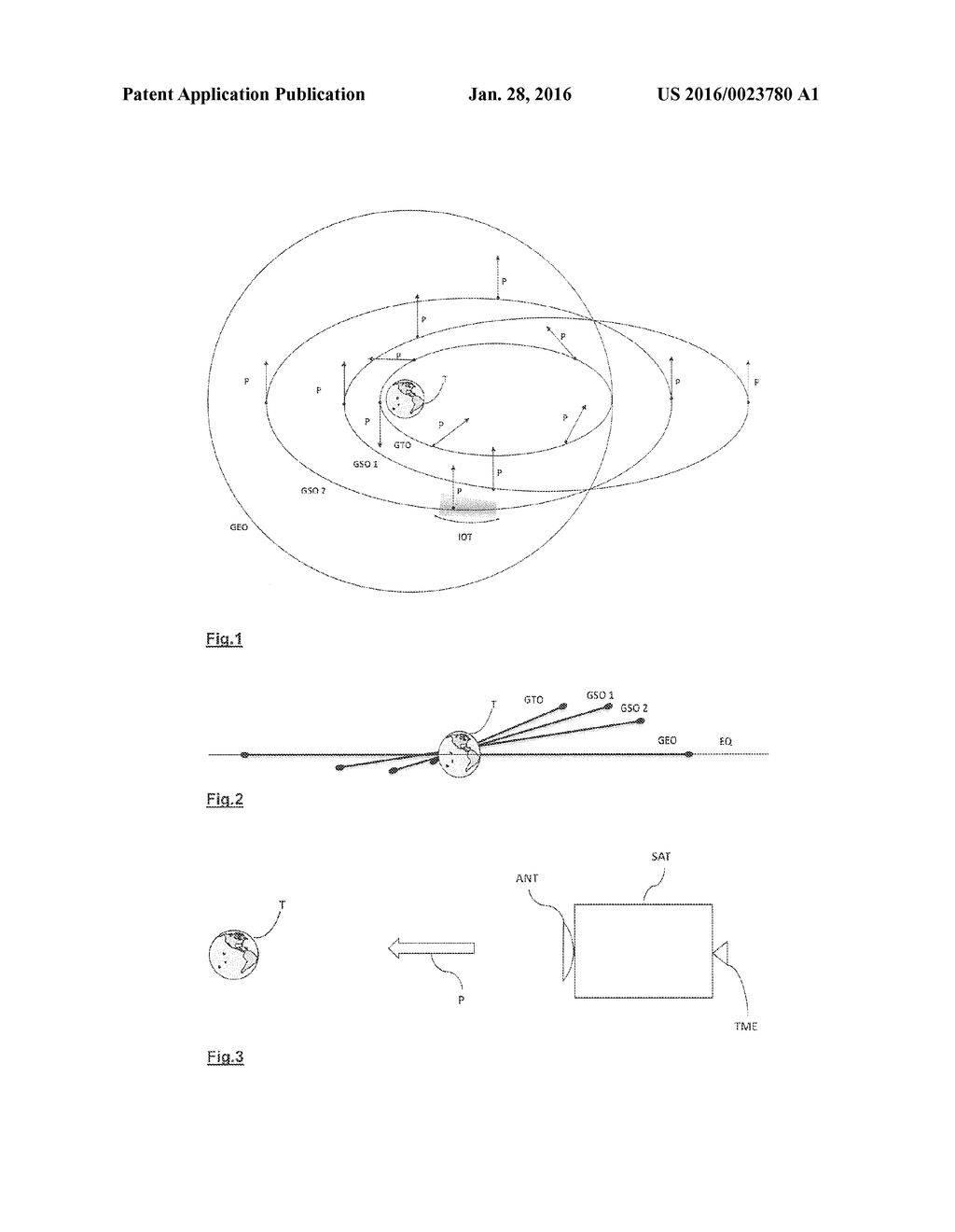 METHOD FOR STATIONING A SATELLITE AND IN-ORBIT TESTING OF ITS PAYLOAD - diagram, schematic, and image 02