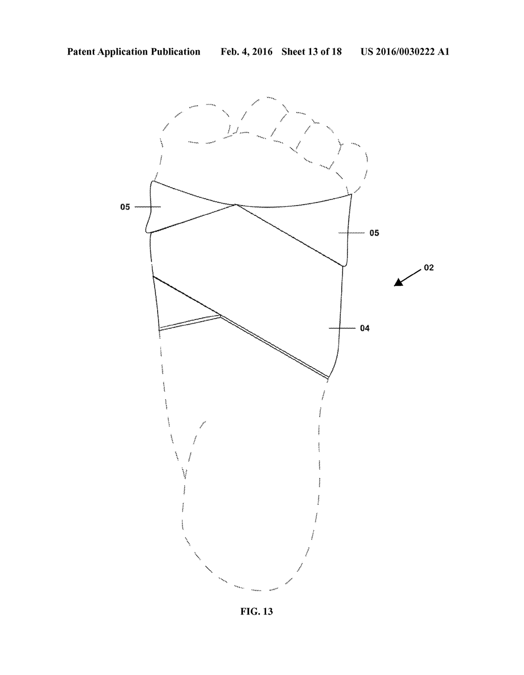 Ankle-Foot Flexion Device - diagram, schematic, and image 14
