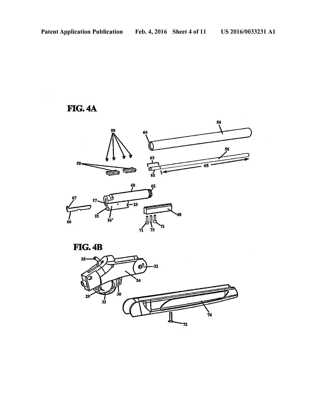 converted muzzleloader arrow gun - diagram, schematic, and image 05  patents