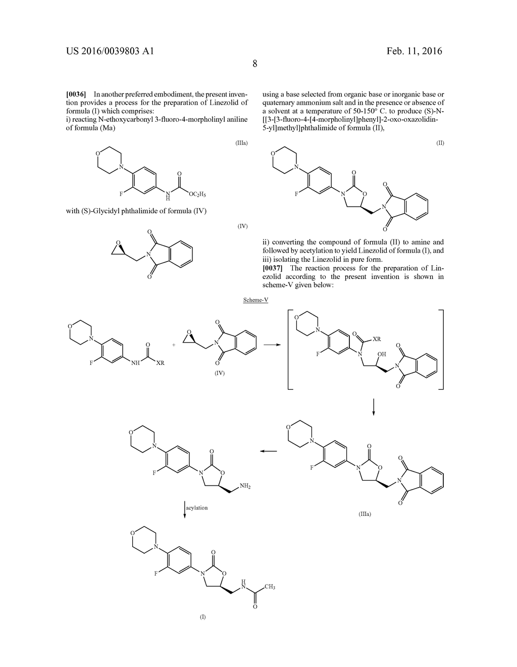 PROCESS FOR THE PREPARATION OF OXAZOLIDINONE DERIVATIVES - diagram, schematic, and image 09