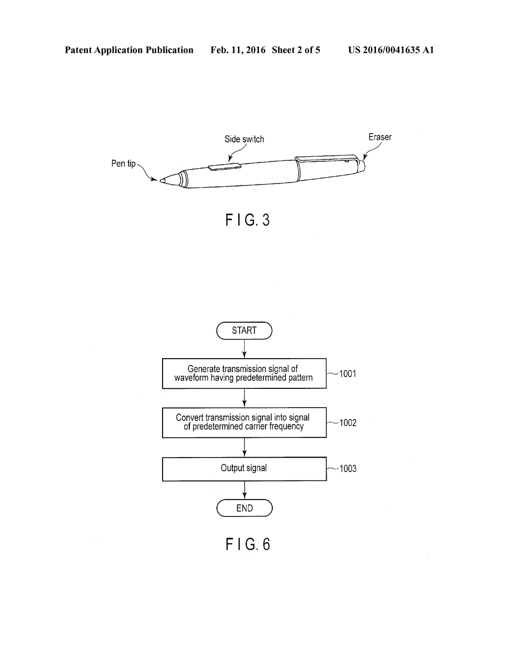 ACTIVE STYLUS PEN, ELECTRONIC DEVICE AND DATA INPUT SYSTEM - diagram, schematic, and image 03