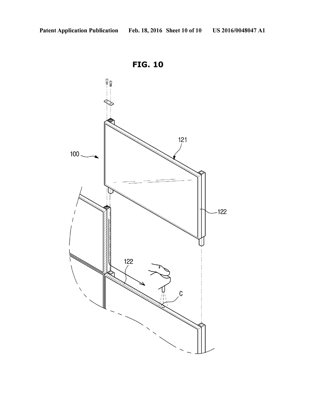 OUTDOOR DISPLAY DEVICE - diagram, schematic, and image 11