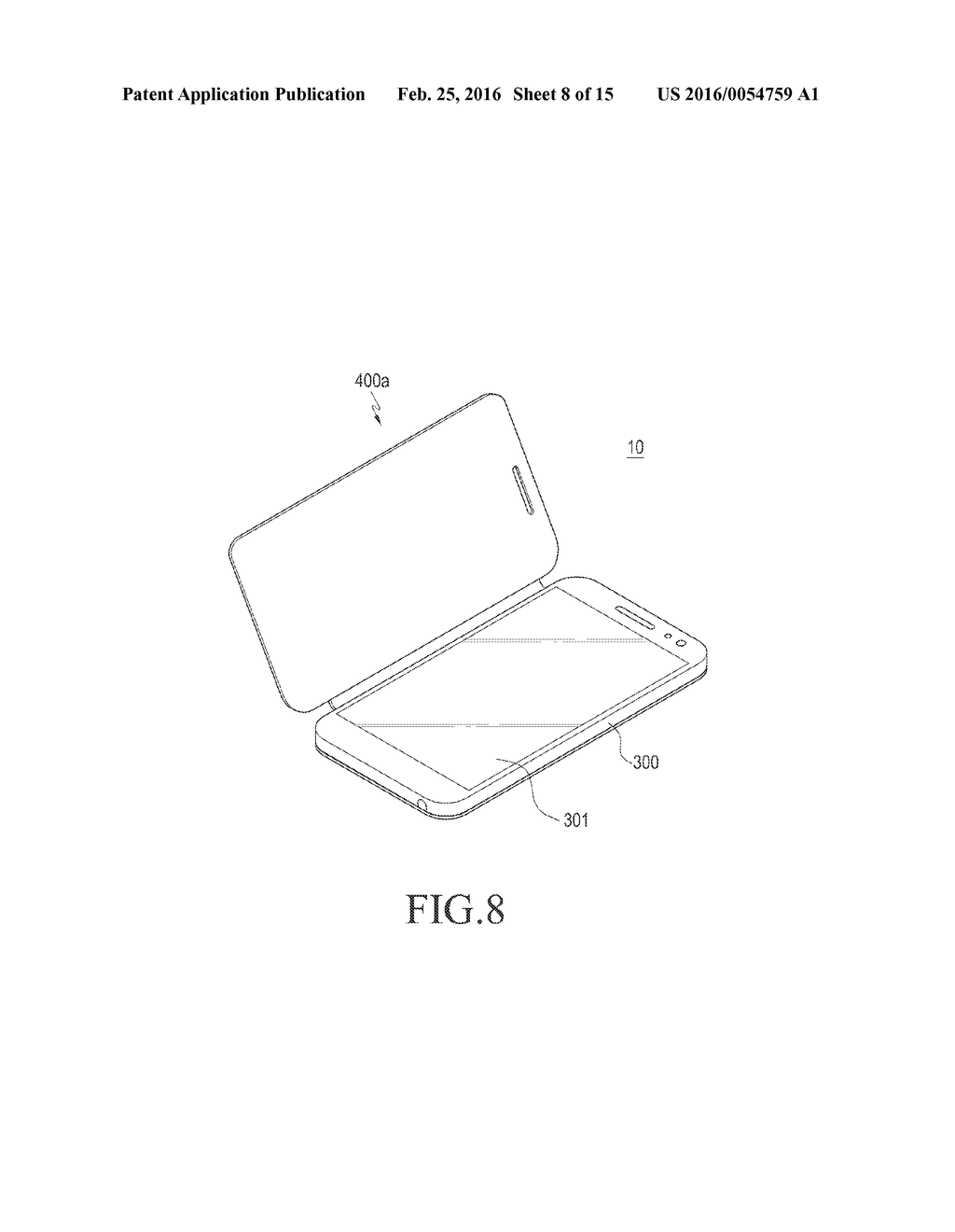 COVER DEVICE AND ELECTRONIC DEVICE INCLUDING THE SAME - diagram, schematic, and image 09