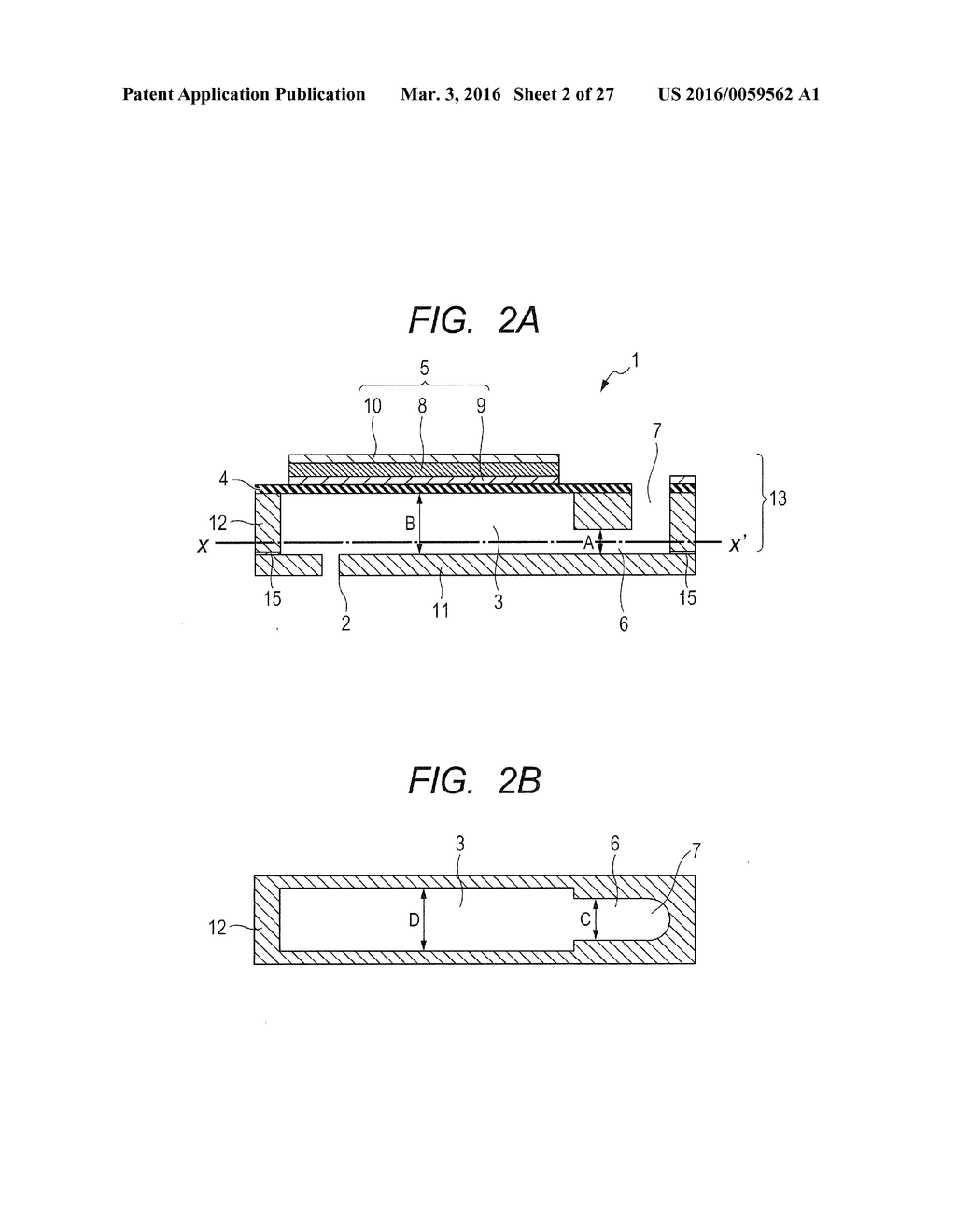 METHOD OF MANUFACTURING ELEMENT SUBSTRATE - diagram, schematic, and image 03