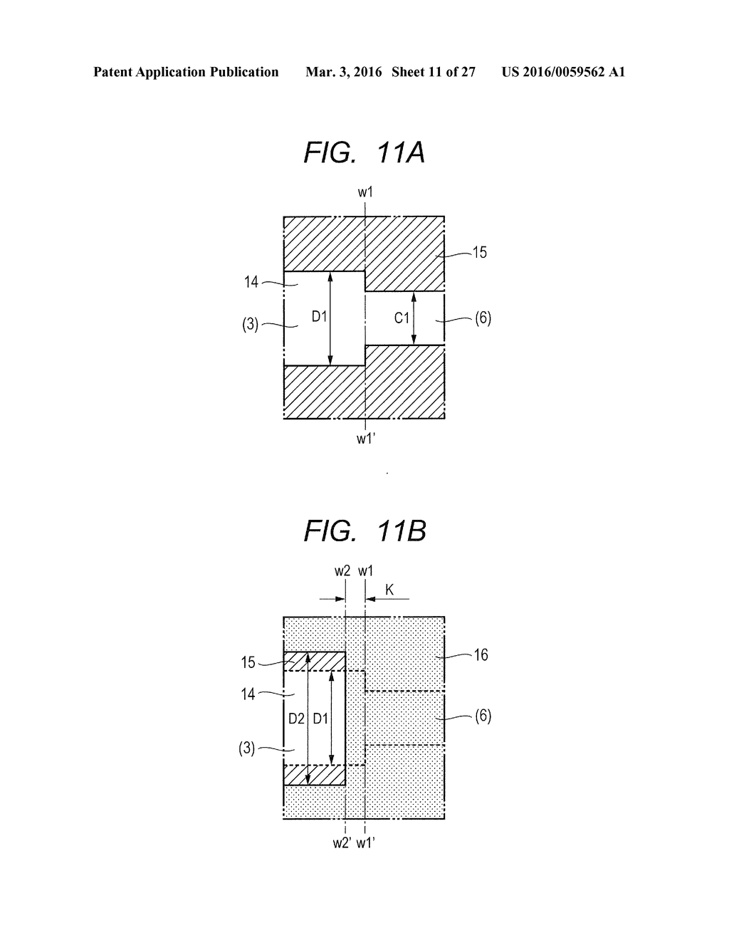 METHOD OF MANUFACTURING ELEMENT SUBSTRATE - diagram, schematic, and image 12