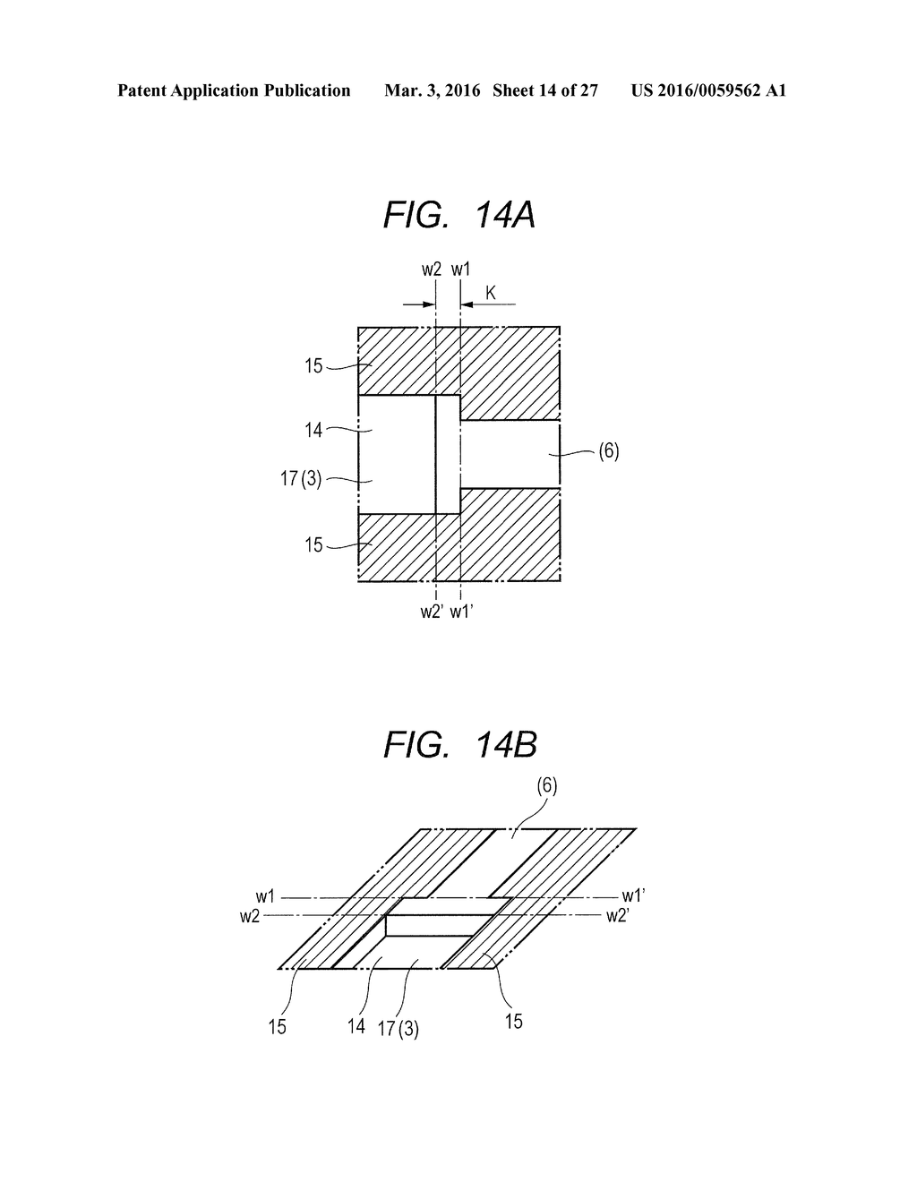 METHOD OF MANUFACTURING ELEMENT SUBSTRATE - diagram, schematic, and image 15