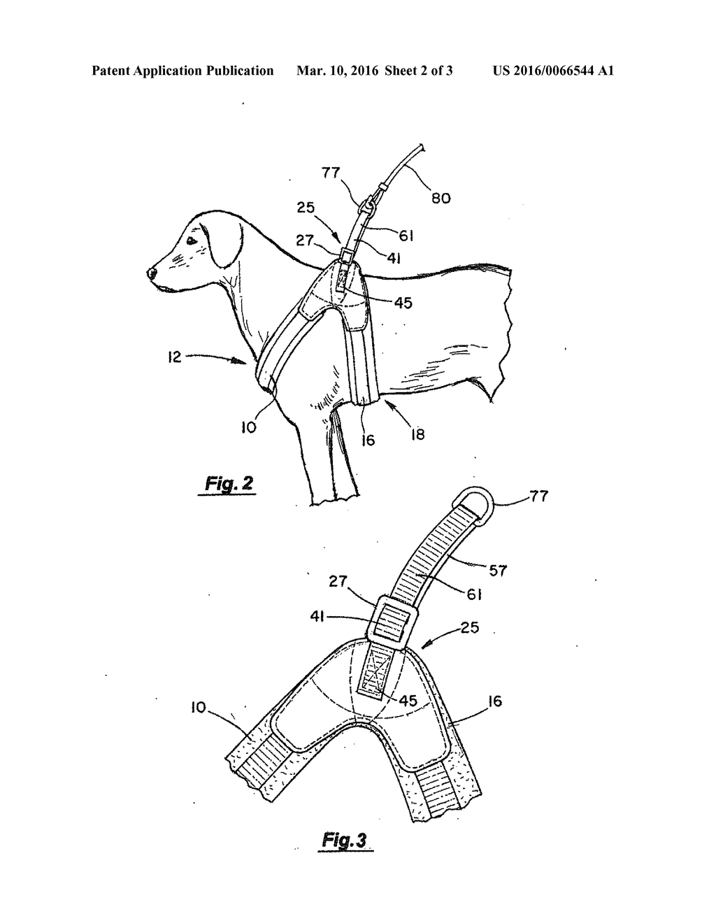 Dog Harness - diagram, schematic, and image 03