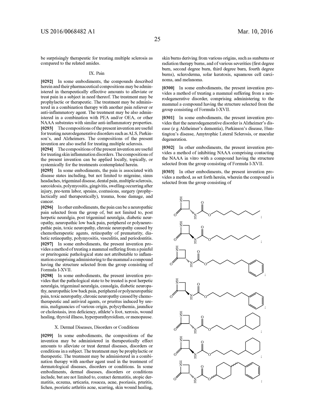 CARBAMATE DERIVATIVES OF LACTAM BASED N-ACYLETHANOLAMINE ACID AMIDASE     (NAAA) INHIBITORS - diagram, schematic, and image 34
